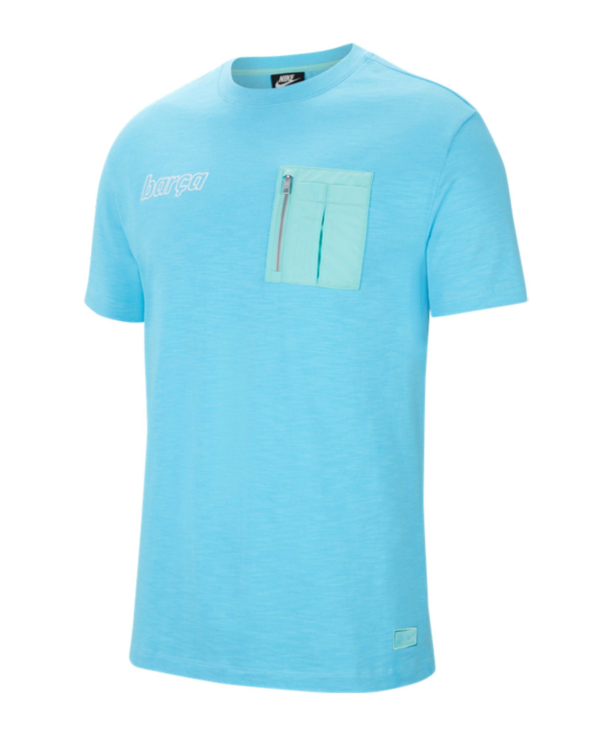 Nike FC Barcelona T-Shirt Blau F425 - blau