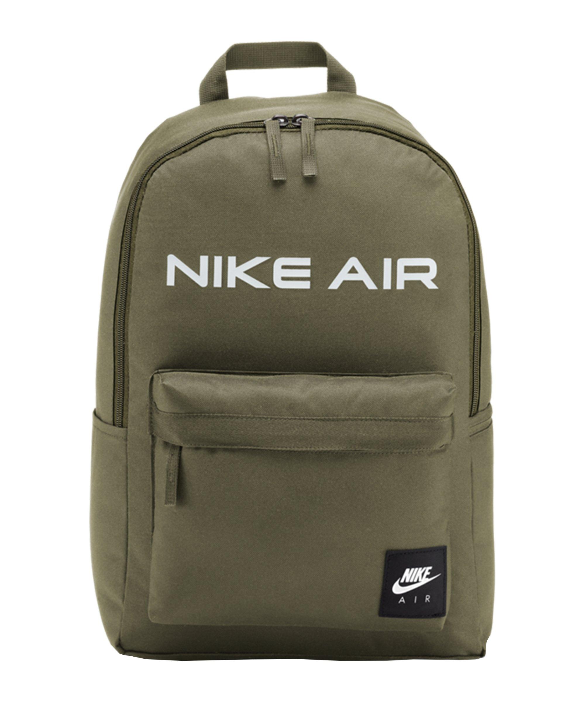Nike Heritage Air Rucksack Grün F222 - gruen