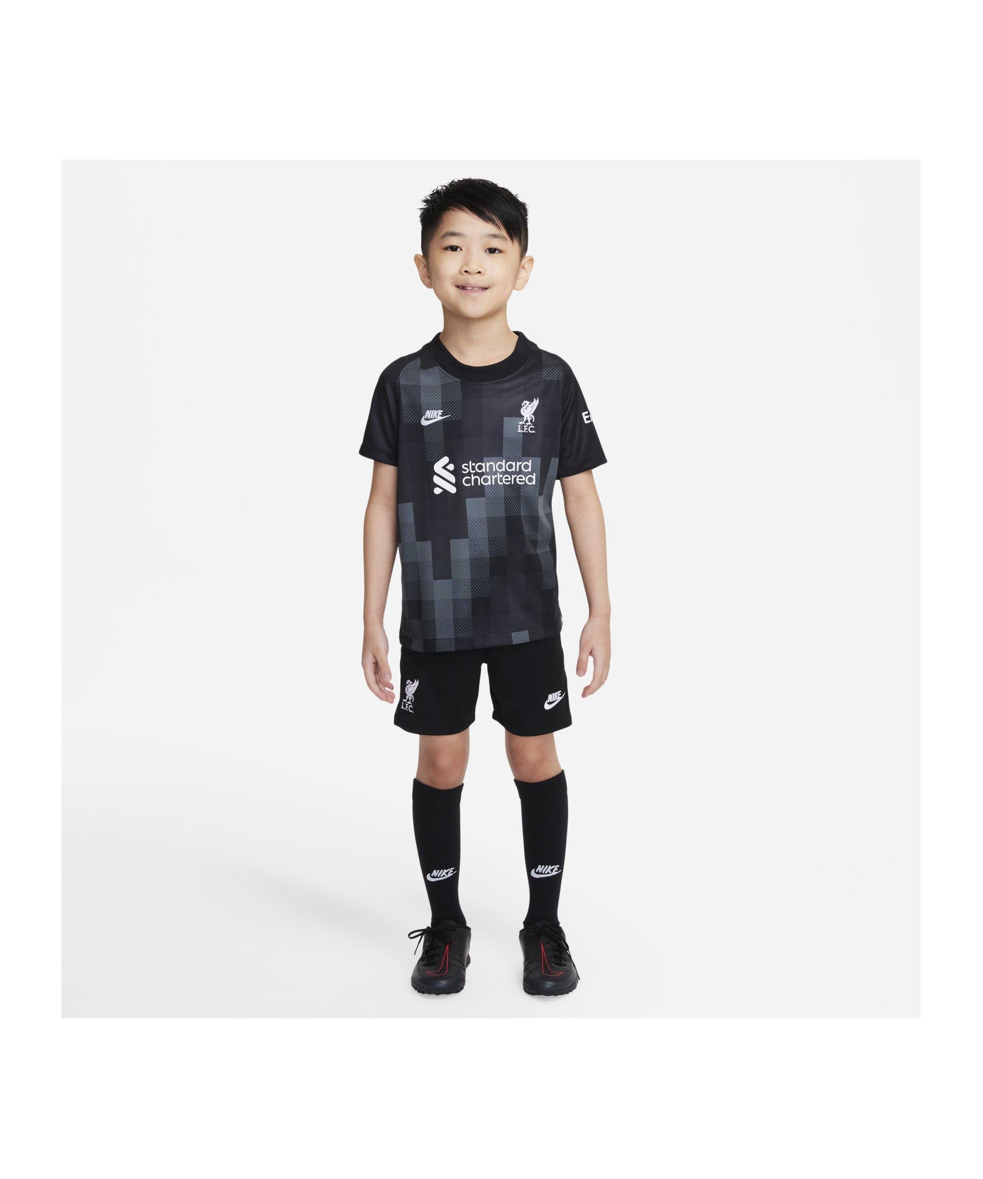 Nike FC Liverpool TW-Minikit 2021/2022 F011 - schwarz