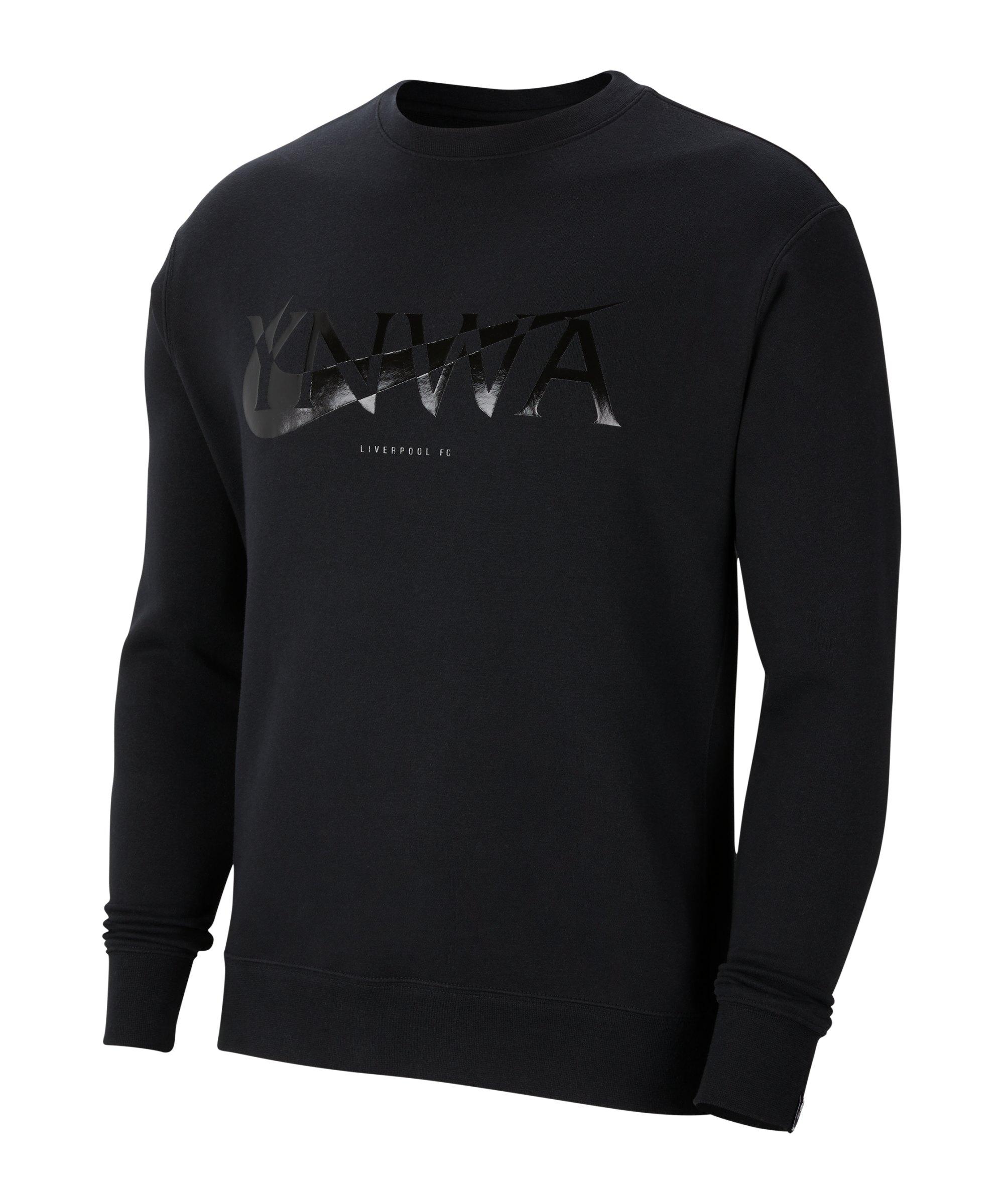 Nike FC Liverpool Club Sweatshirt F011 - schwarz