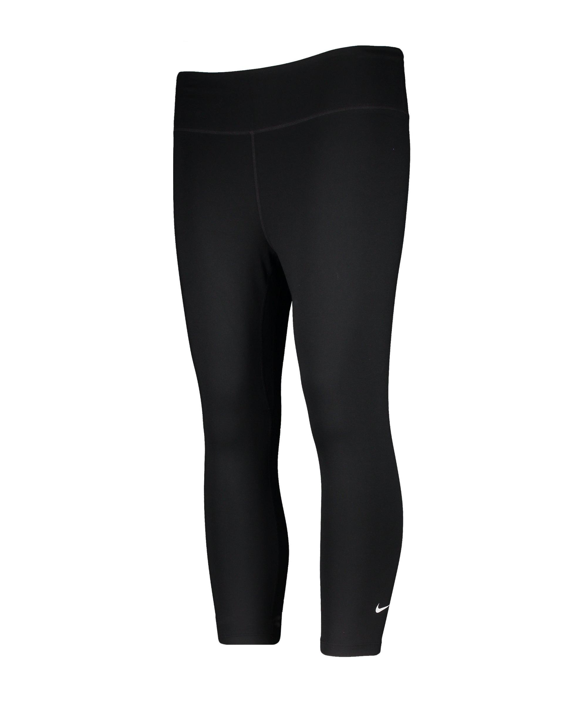 Nike One Capri Leggings Training Damen F010 - schwarz