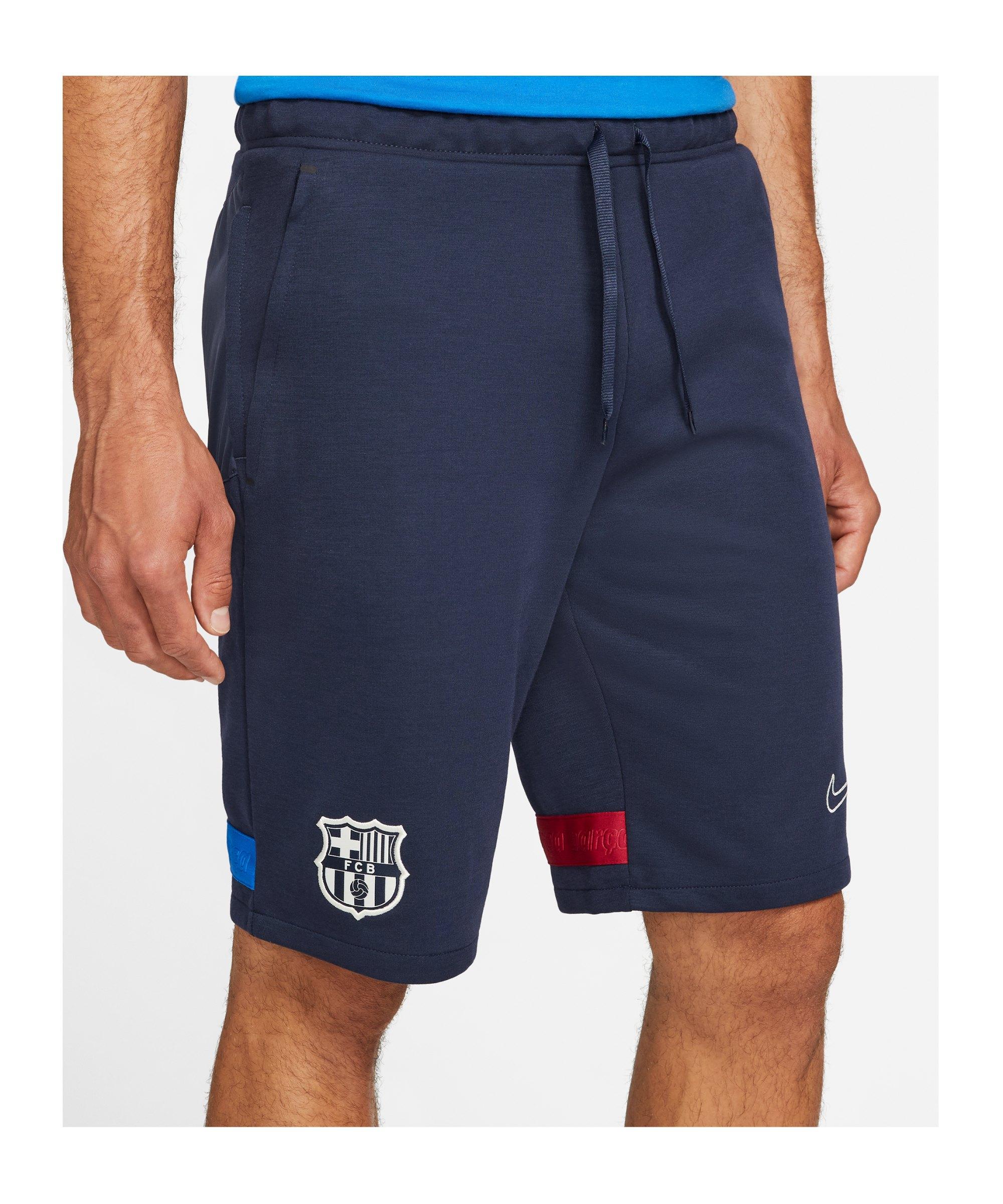 Nike FC Barcelona Short Blau F451 - blau