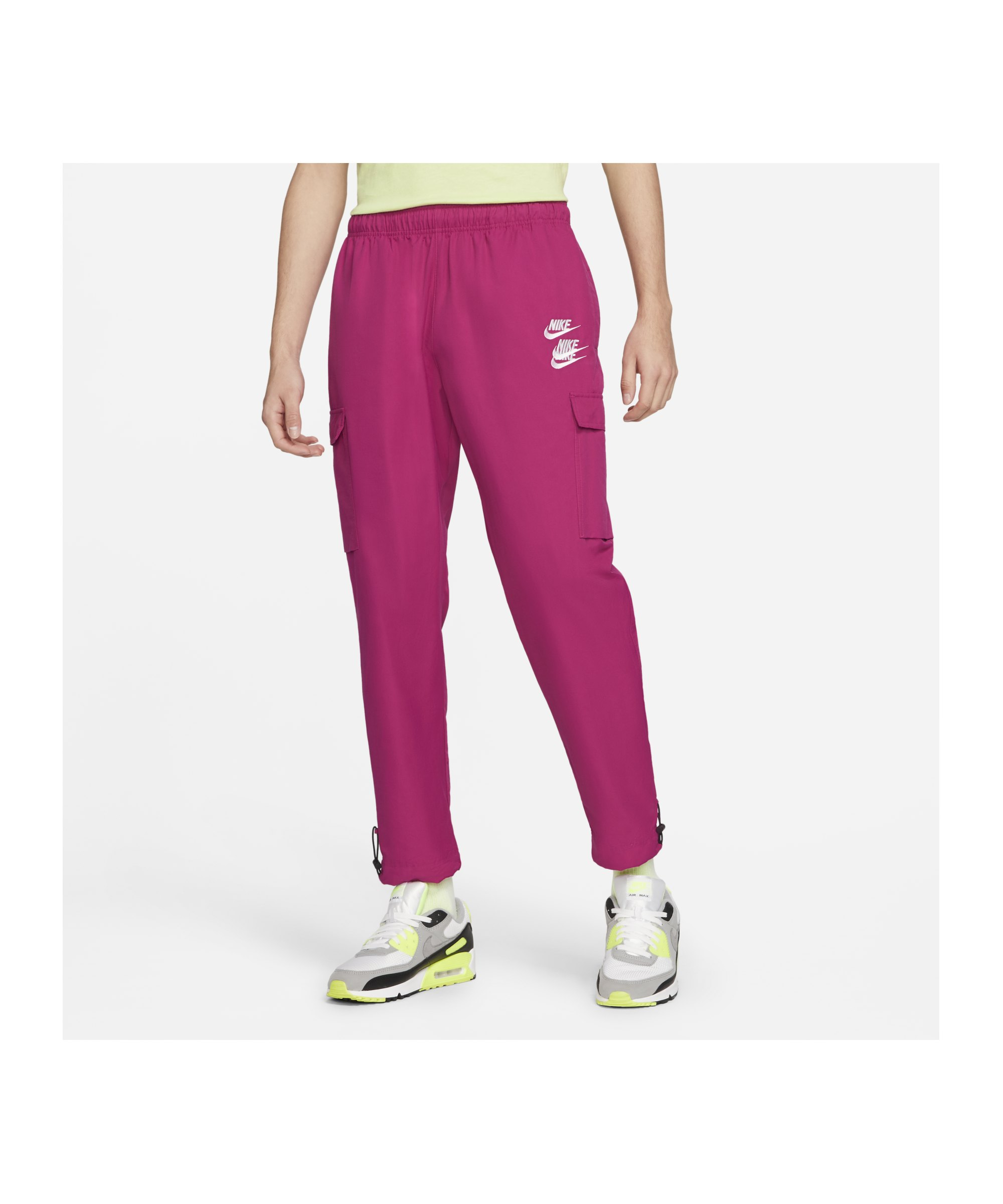 Nike Woven Cargo Jogginghose Pink F615 - pink