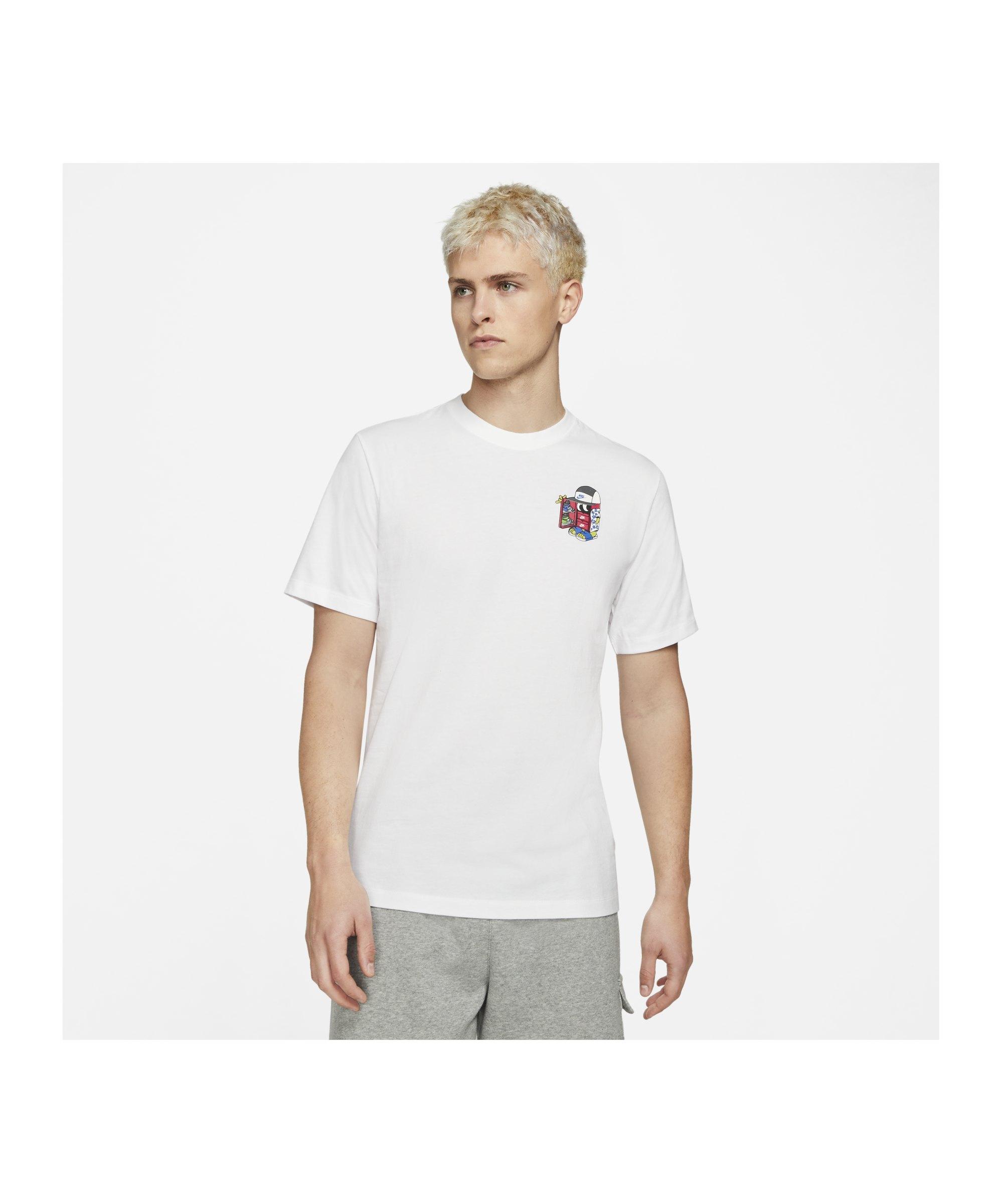 Nike Shoebox T-Shirt Weiss F100 - weiss