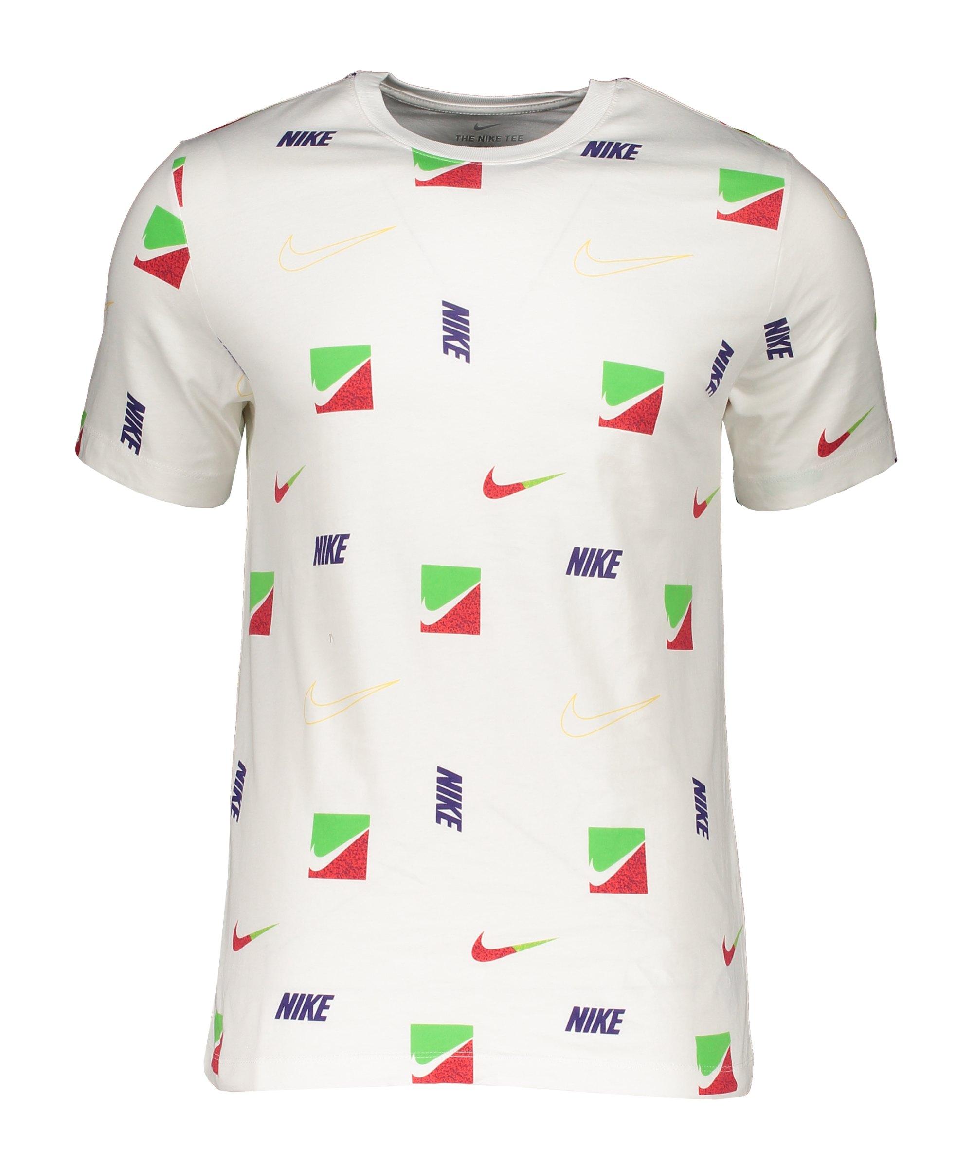 Nike Brandriff AOP T-Shirt Weiss F100 - weiss