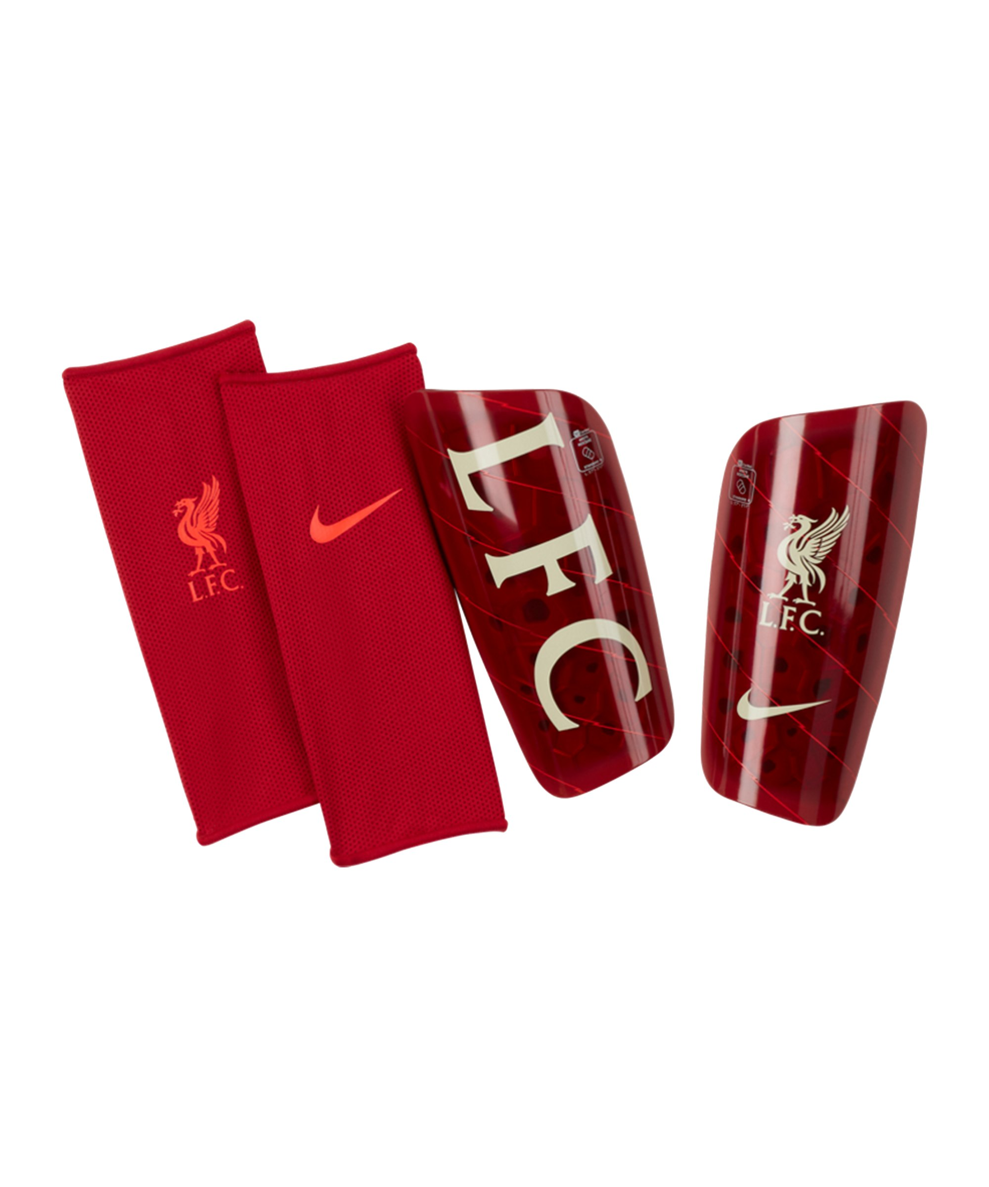 Nike FC Liverpool Mercurial Schienbeinschoner F687 - rot