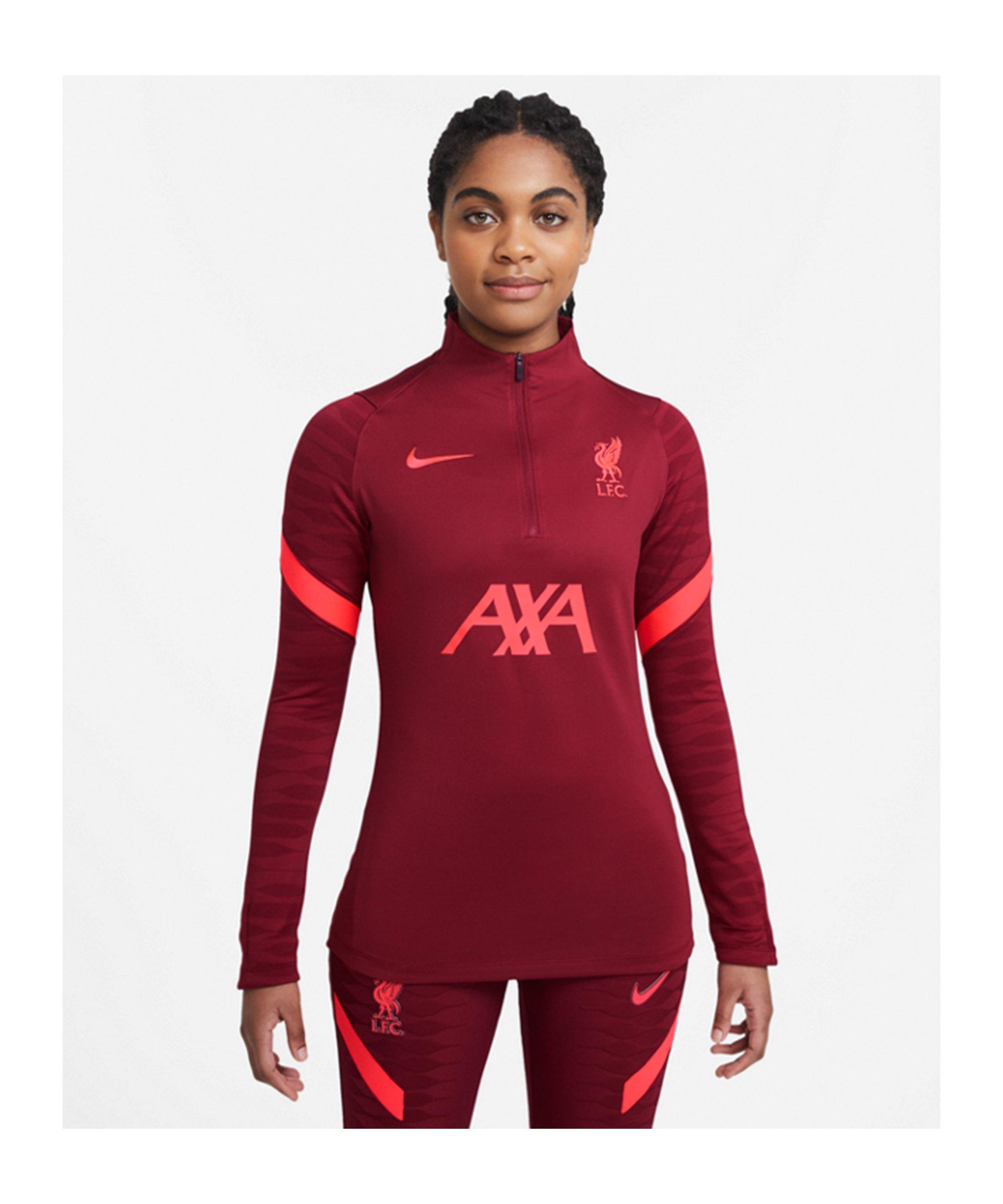 Nike FC Liverpool Drill Top Damen Rot F678 - rot