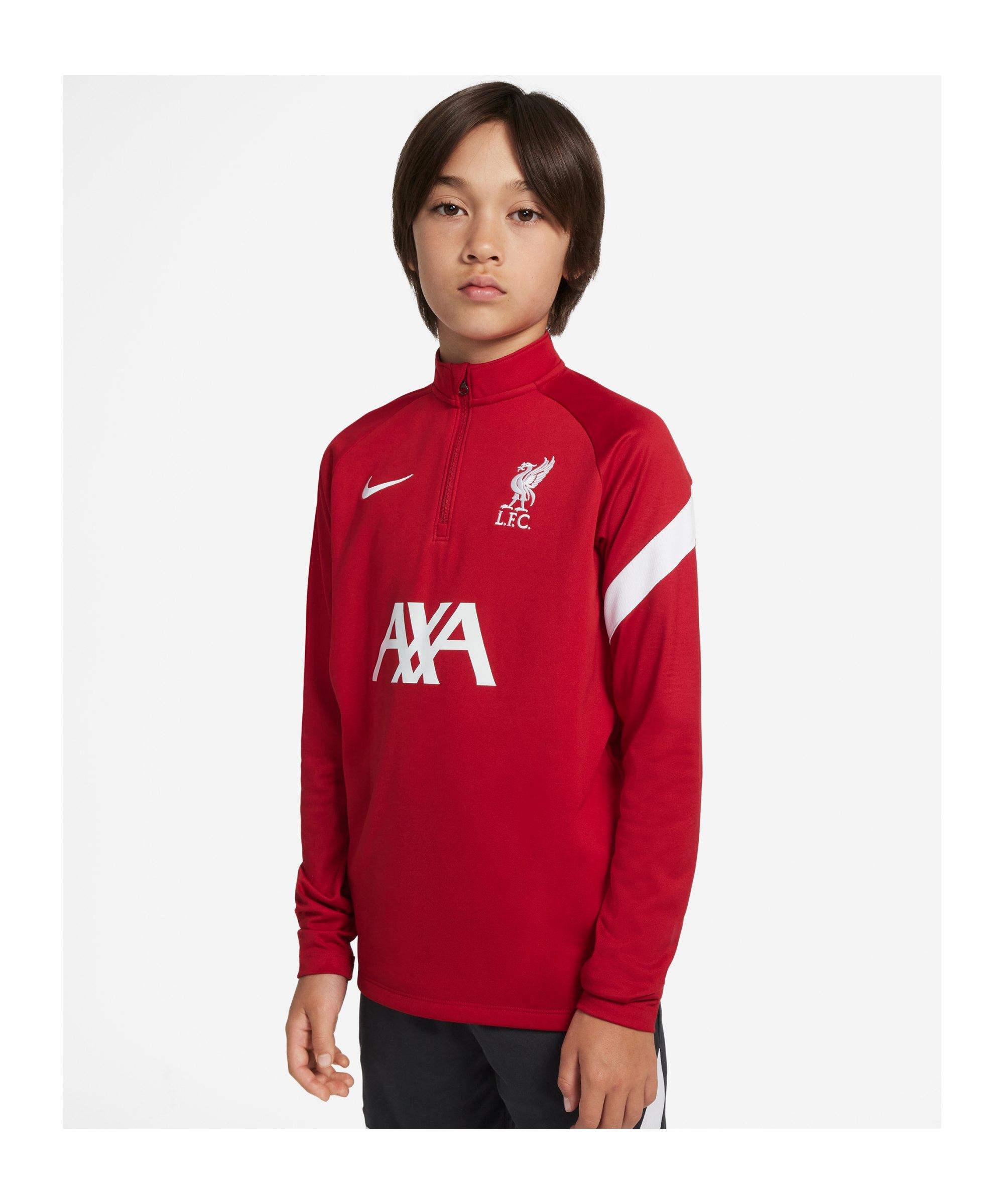 Nike FC Liverpool Drill Top Kids Rot F687 - rot