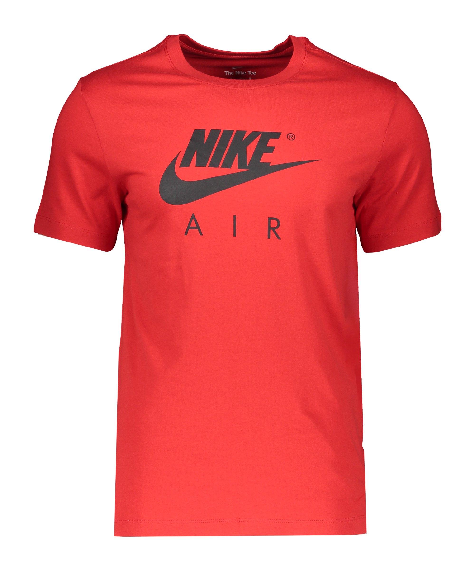 Nike Air T-Shirt Rot F657 - rot