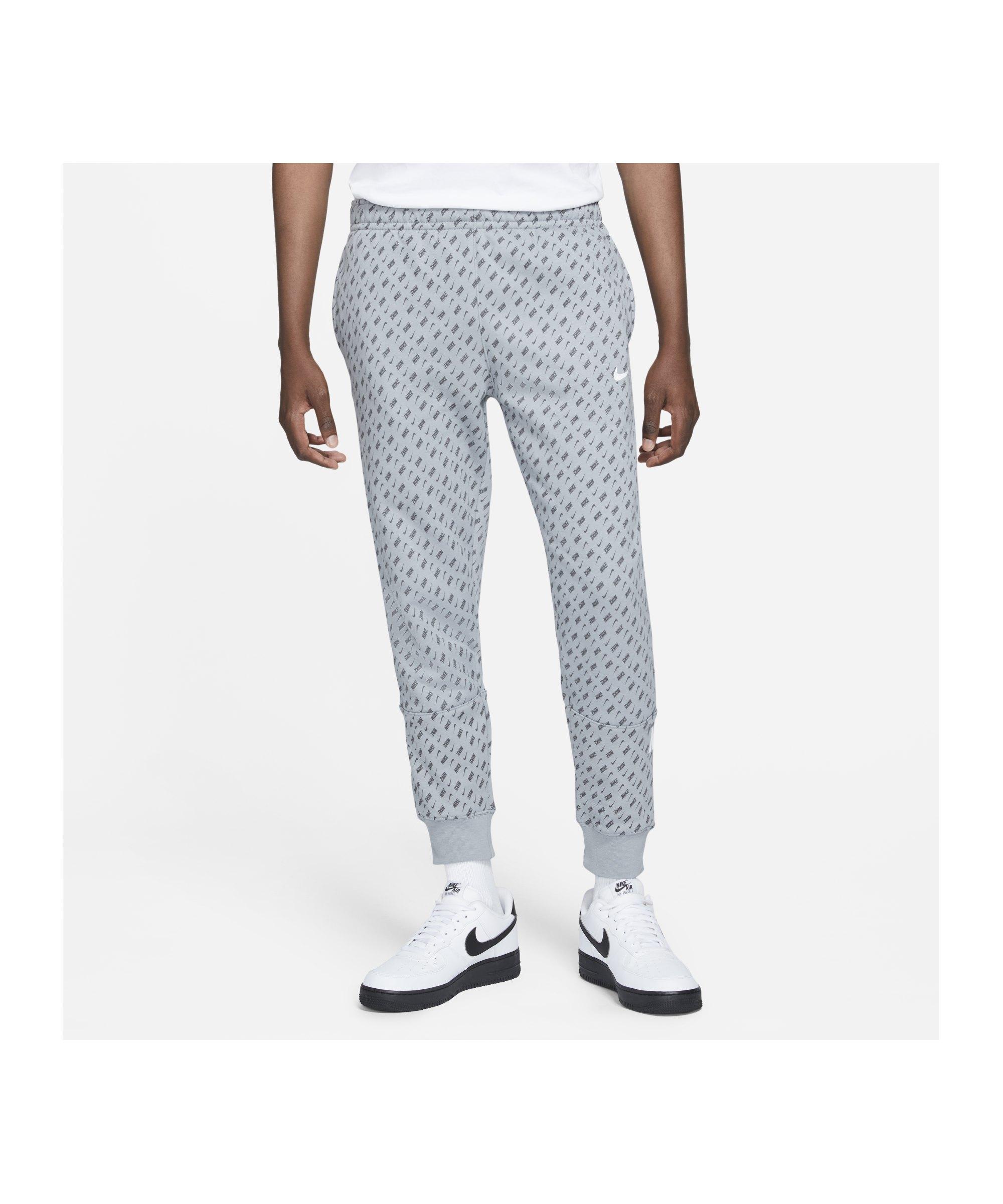 Nike Repeat Fleece Jogginghose Grau F073 - grau