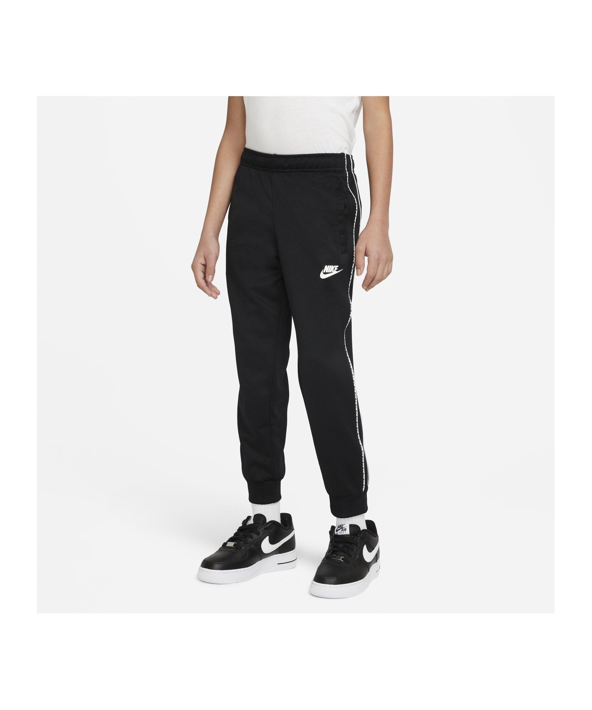 Nike Repeat Jogginghose Kids Schwarz F010 - schwarz