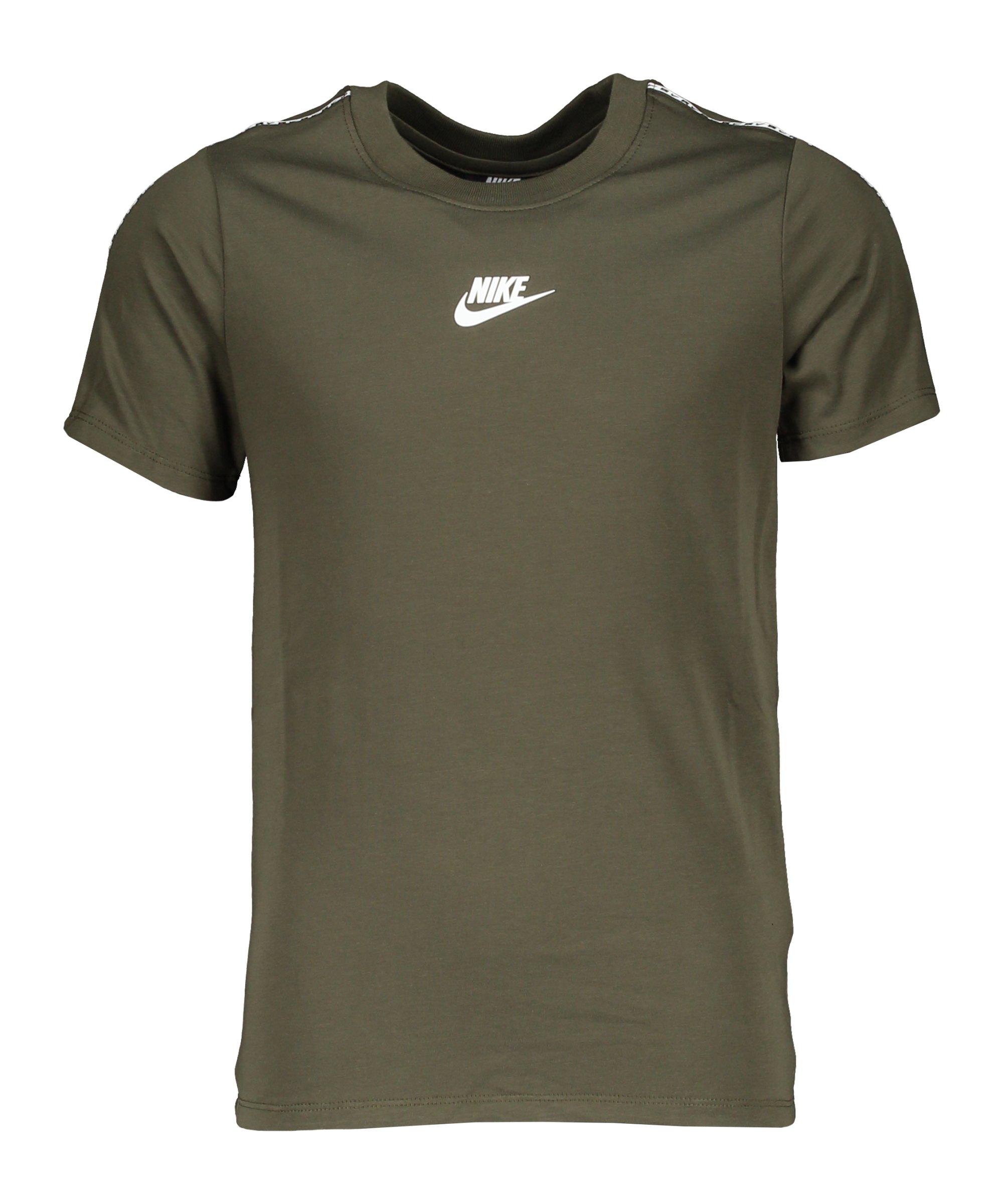Nike Repeat T-Shirt Kids Grün F325 - gruen