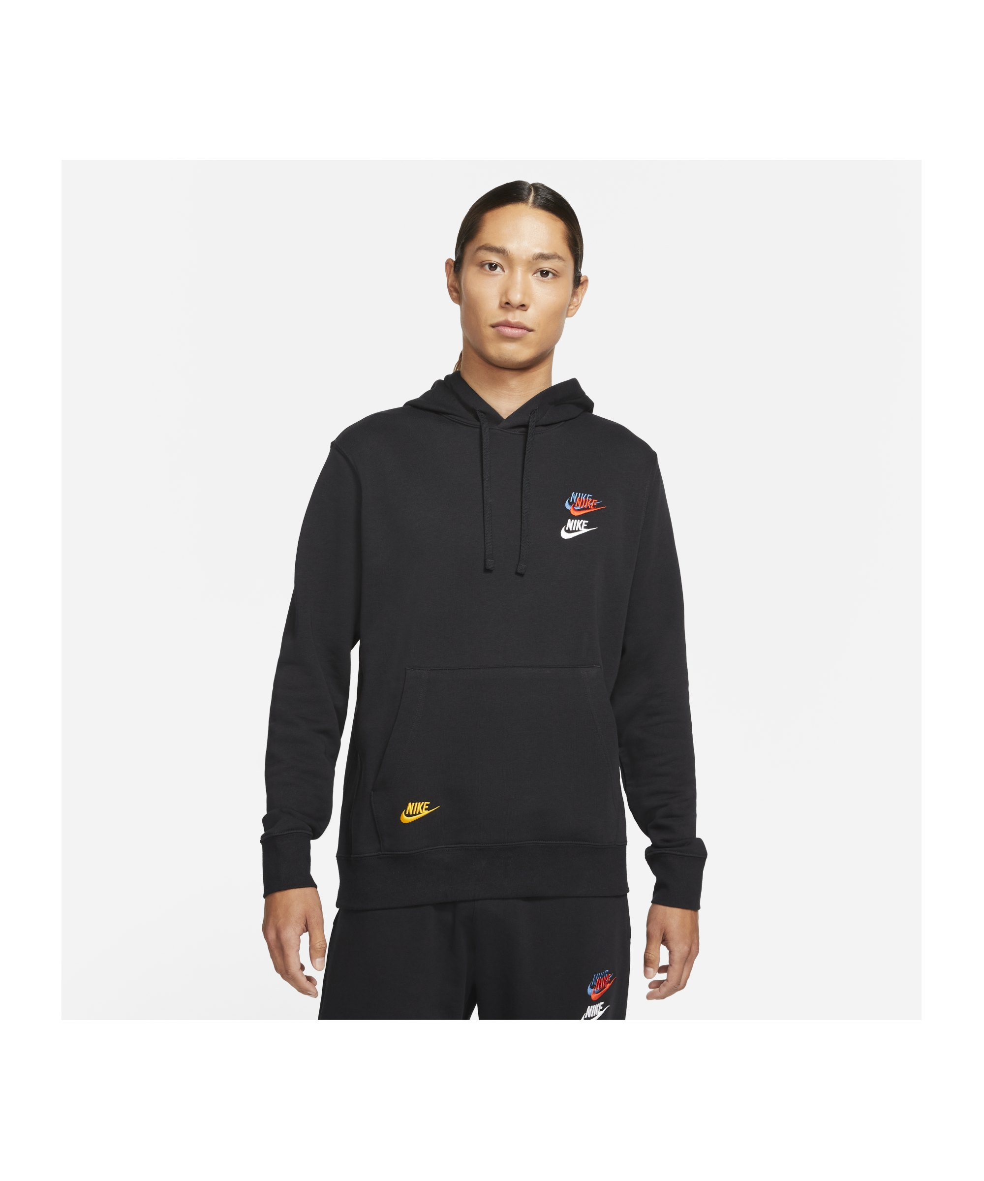 Nike Essentials+ French Terry Hoody F010 - schwarz