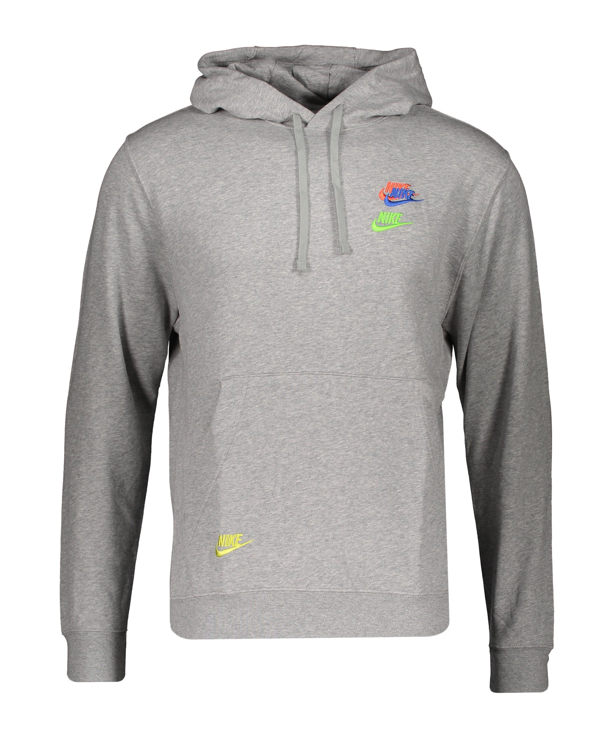 Nike Essentials+ French Terry Hoody F063 - grau