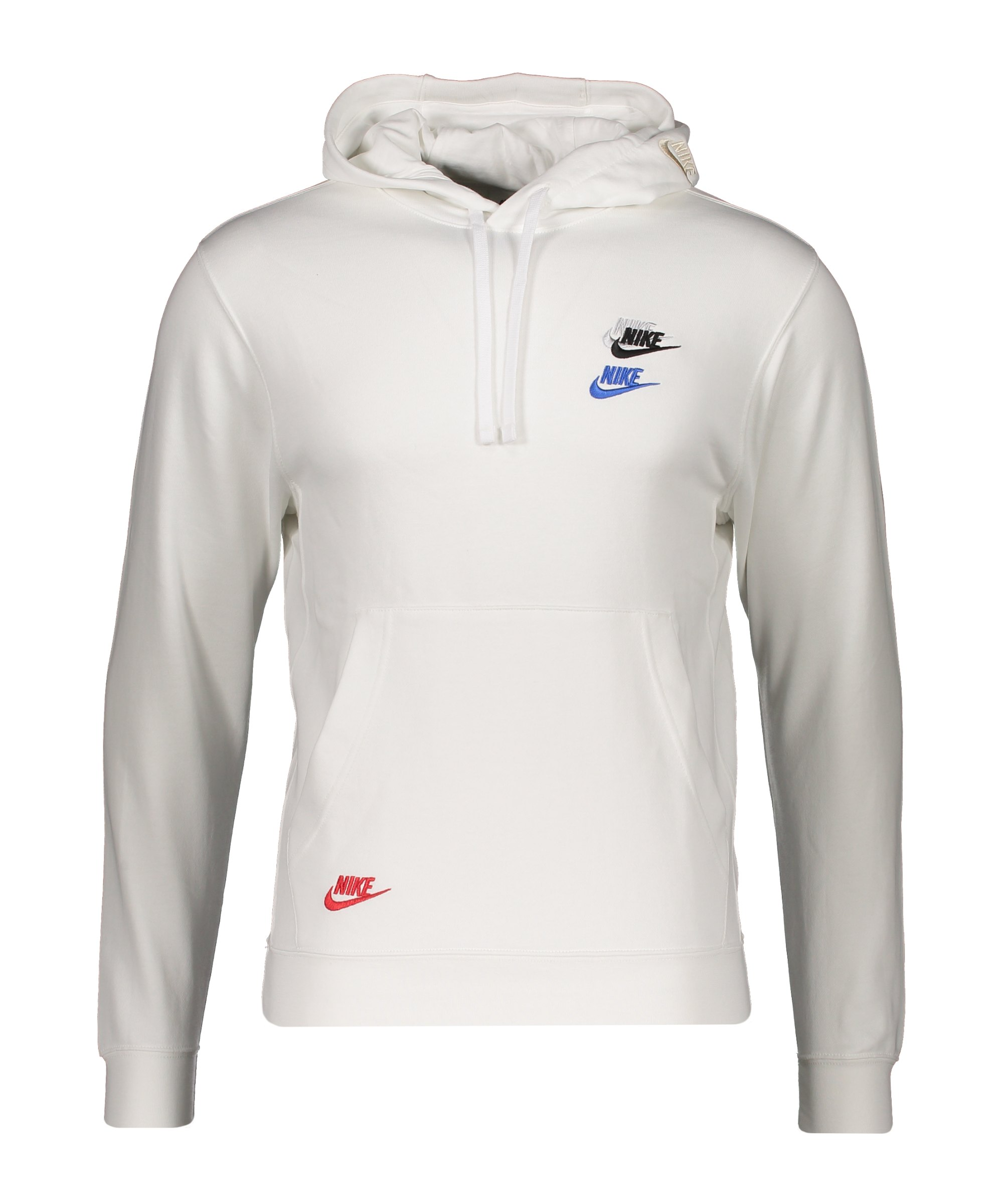 Nike Essentials+ French Terry Hoody F100 - weiss