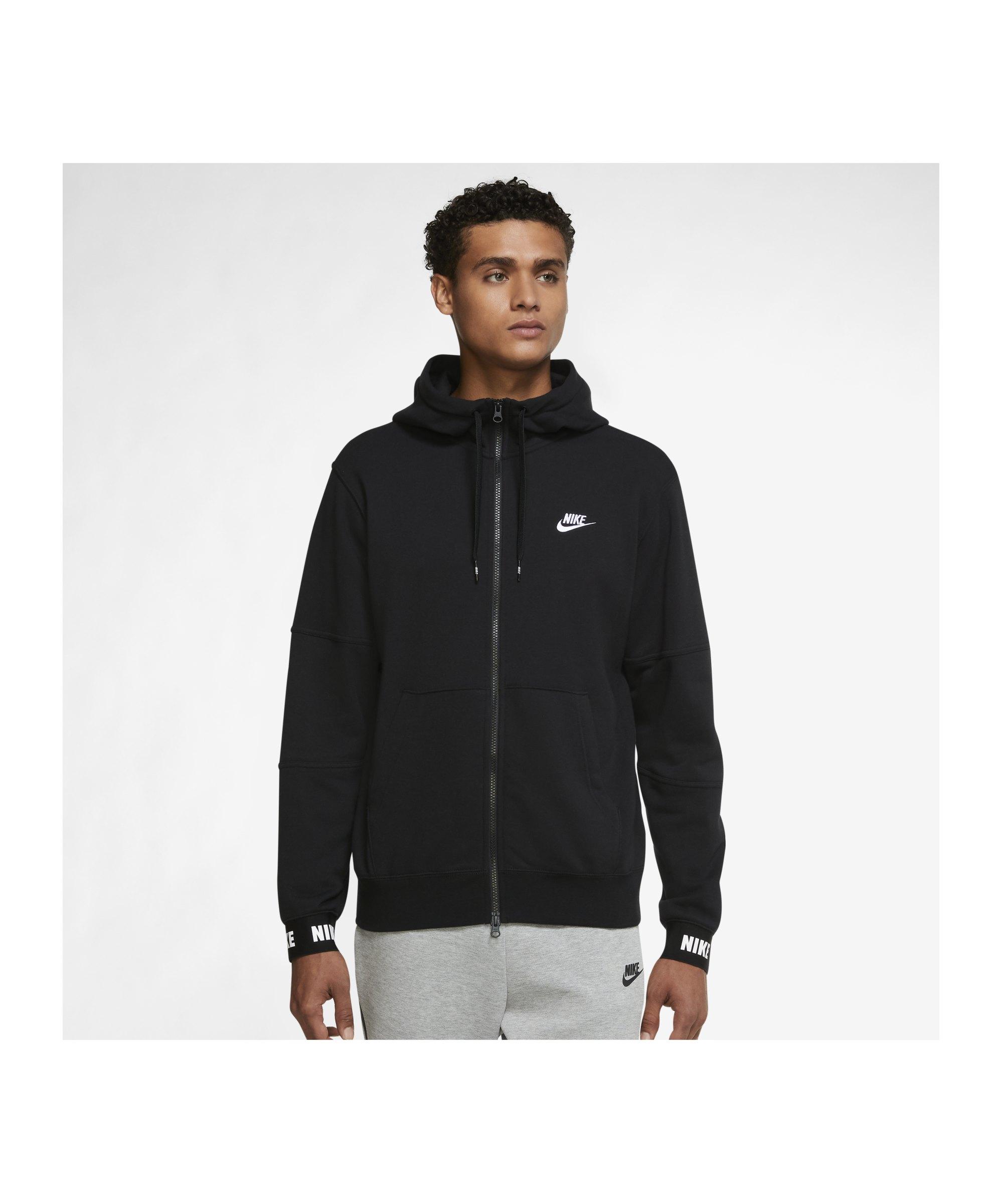 Nike Essentials+ French Terry Kapuzenjacke F010 - schwarz
