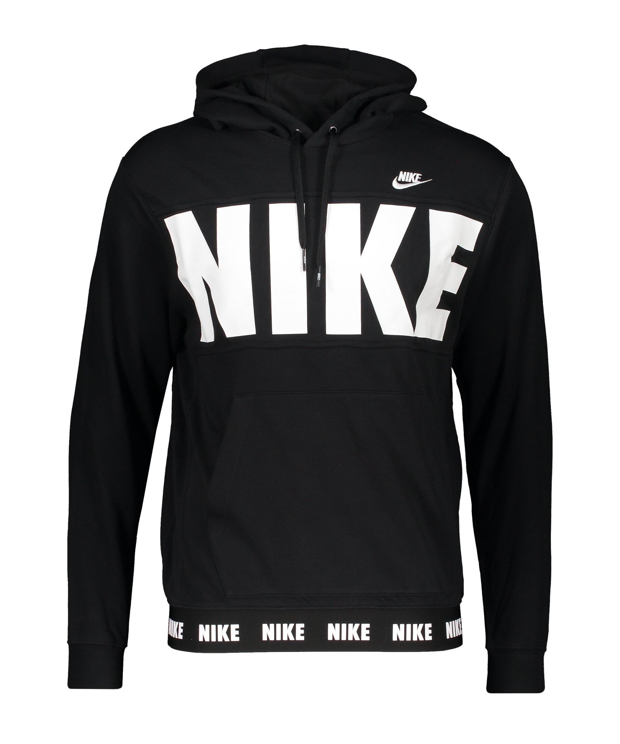 Nike Essentials+ French Terry Hoody Schwarz F010 - schwarz