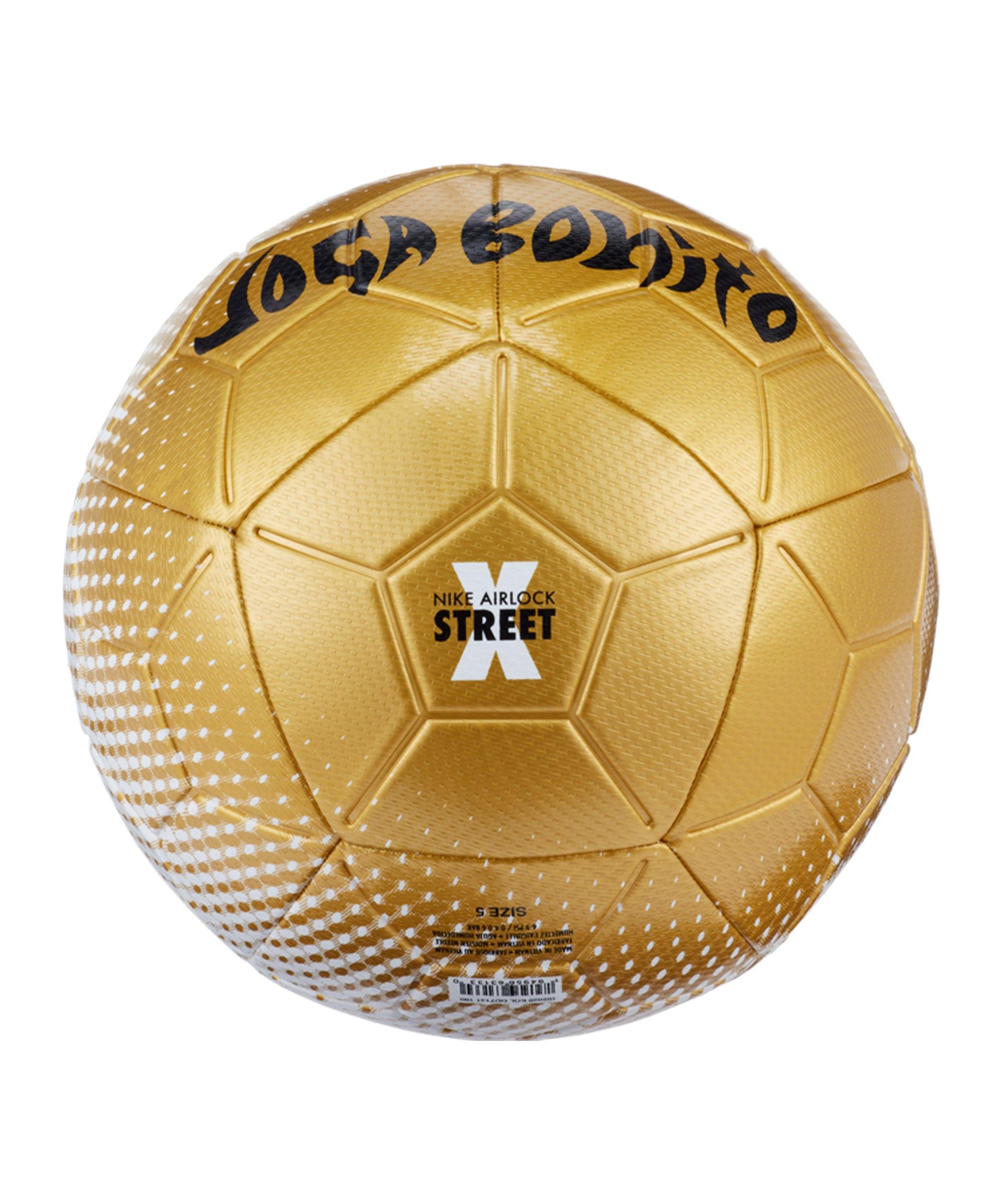 Nike Airlock Street X Joga Bonito Schwarz F100 - gold