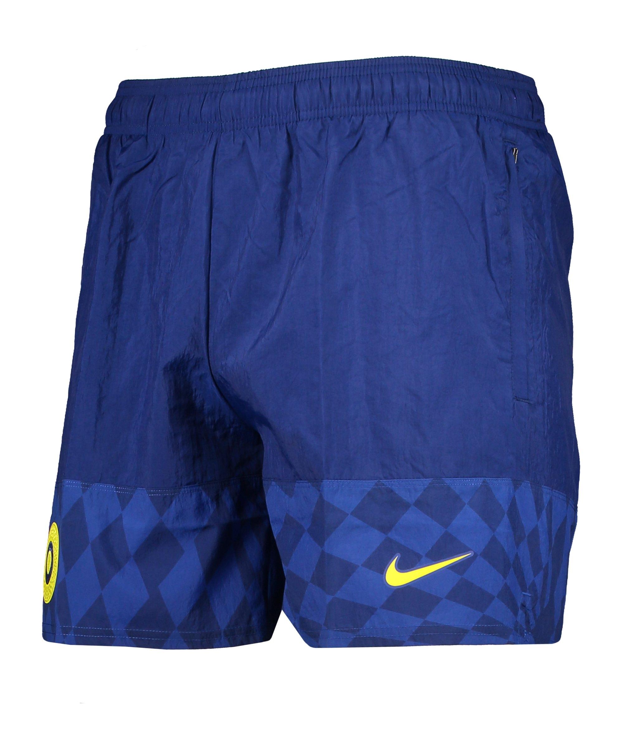 Nike FC Chelsea London Woven Short F492 - blau