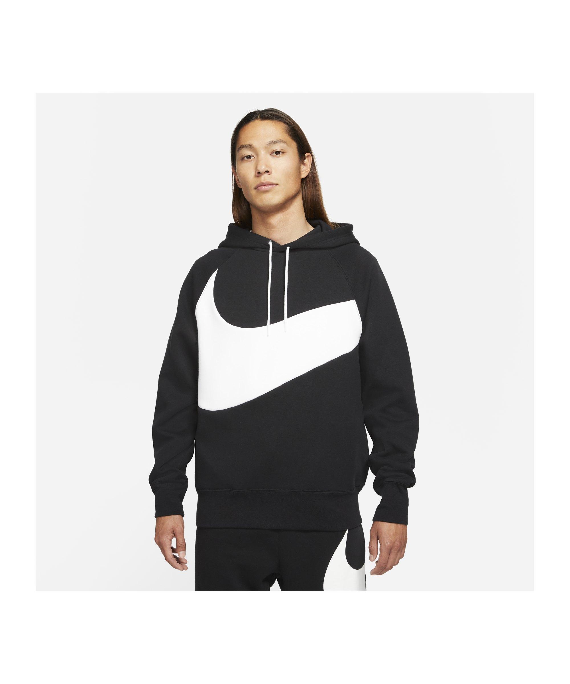 Nike Swoosh Tech Hoody Schwarz F010 - schwarz