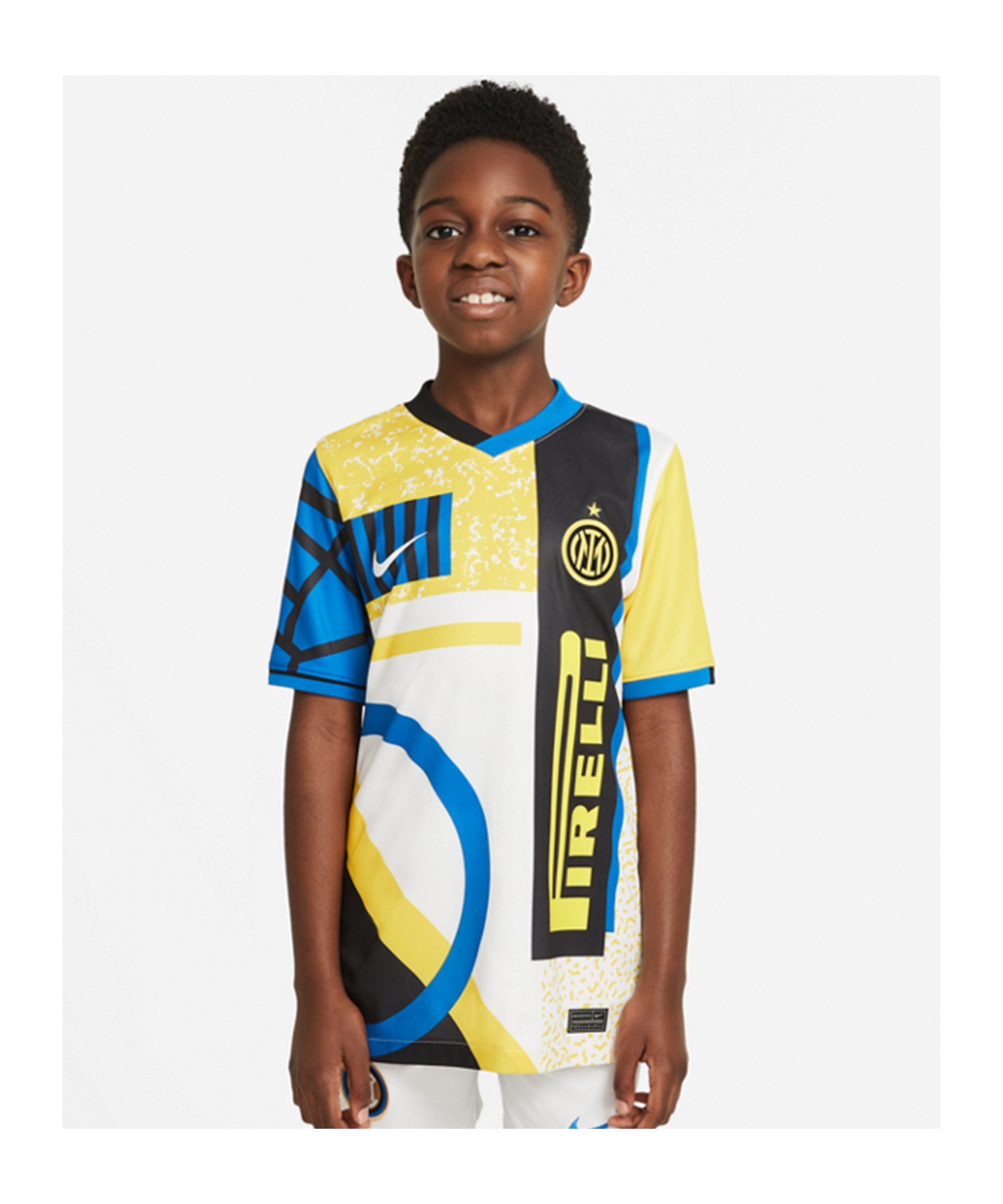 Nike Inter Mailand Trikot 4th 2020/2021 Kids F100 - weiss