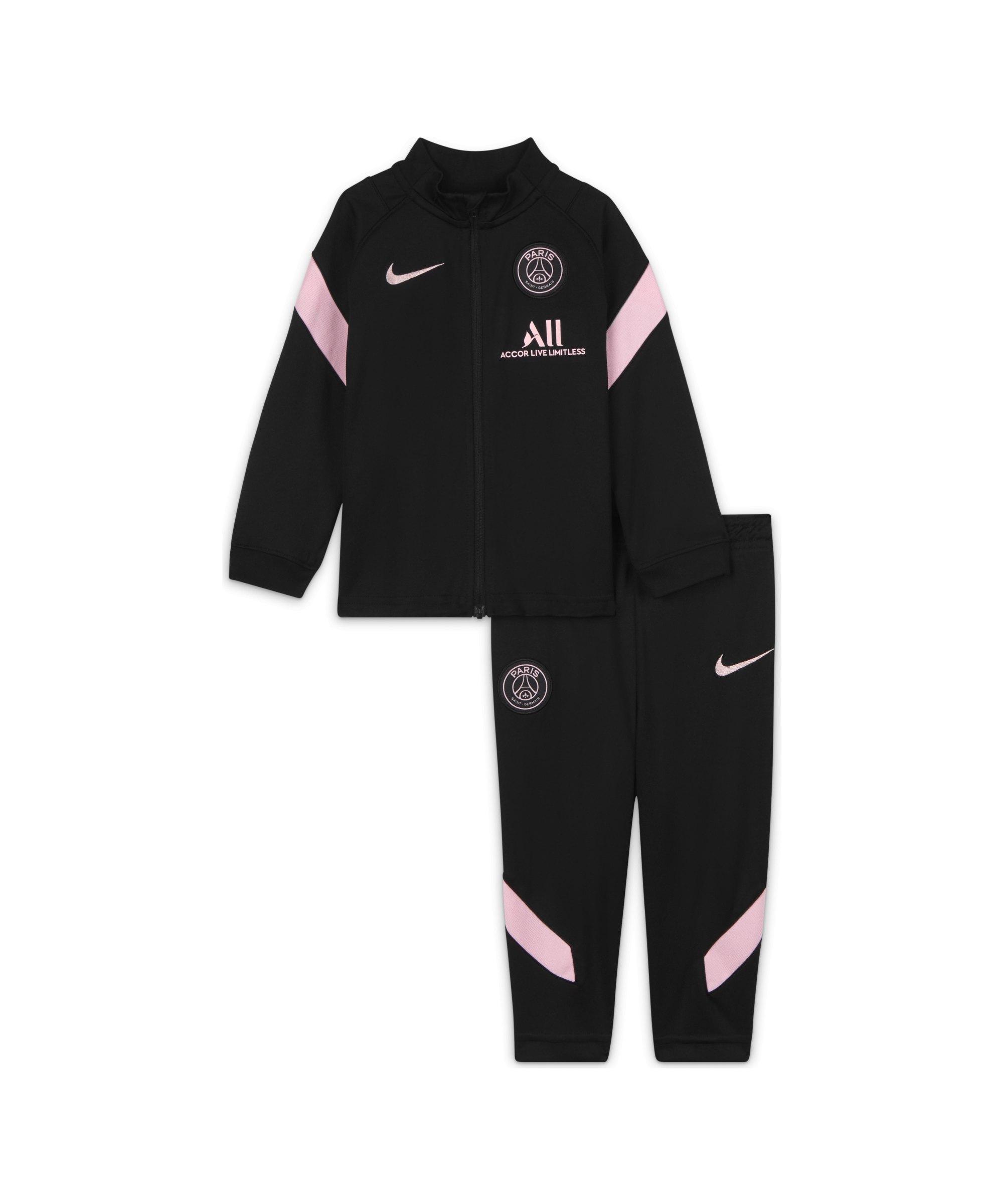 Nike Paris St. Germain Trainingsanzug Baby F011 - schwarz