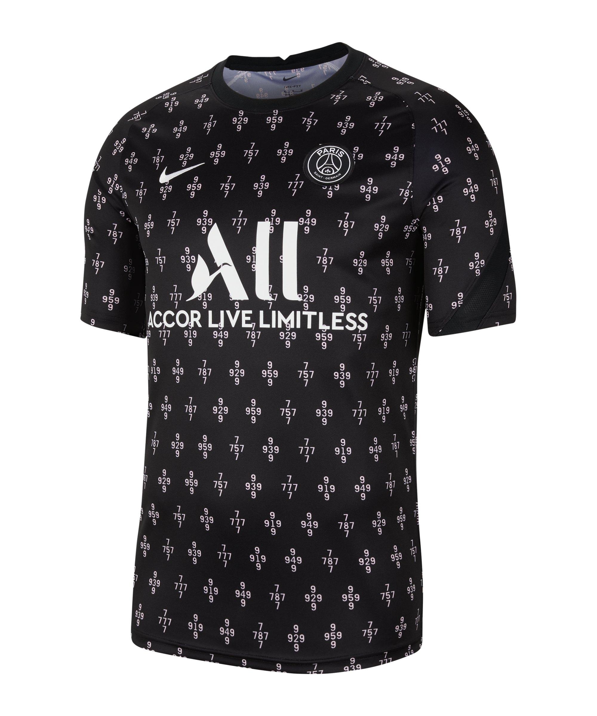 Nike Paris St. Germain Prematch Shirt 2021/2022 F659 - rosa