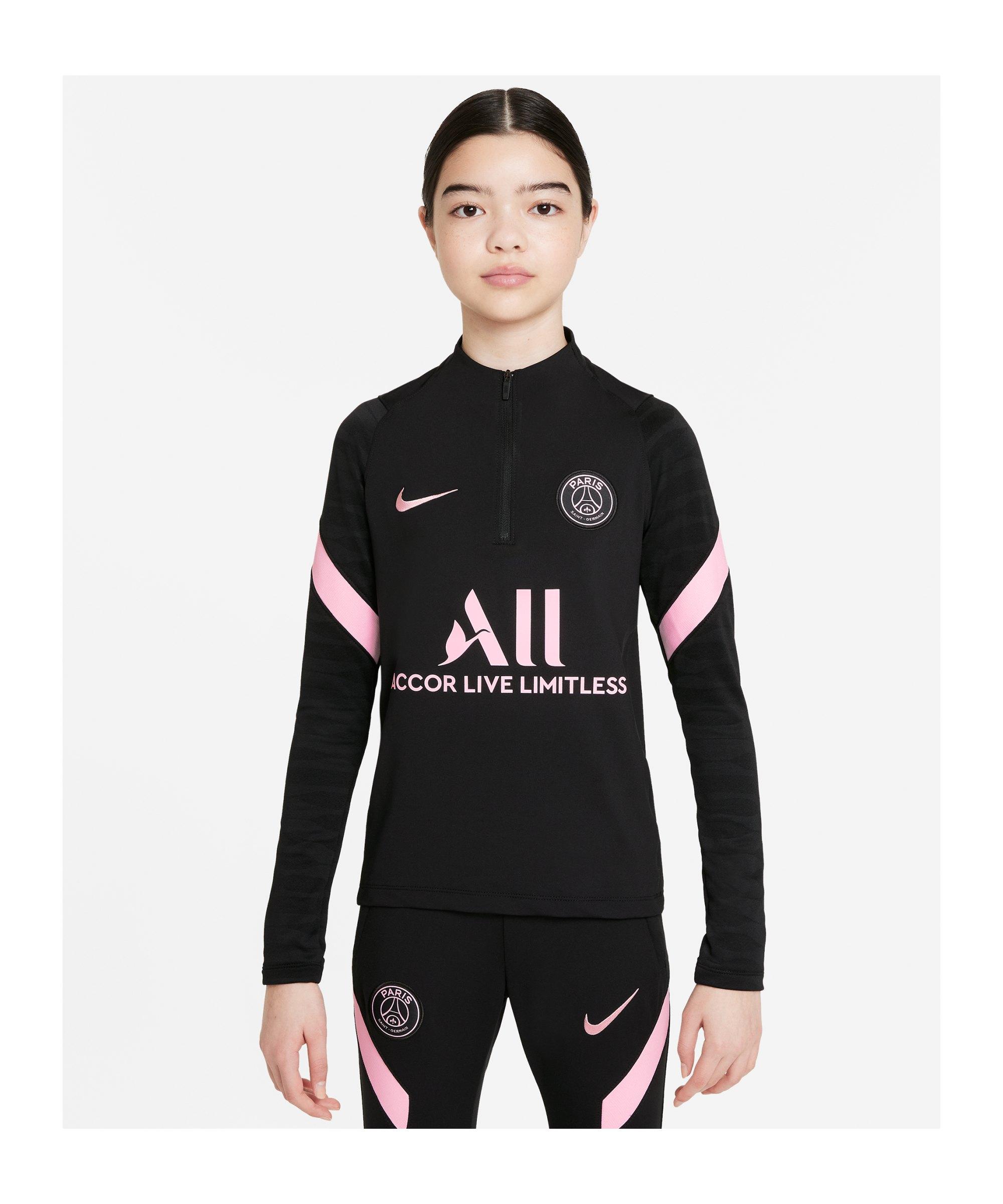 Nike Paris St. Germain Drill Top Kids Schwarz F011 - schwarz