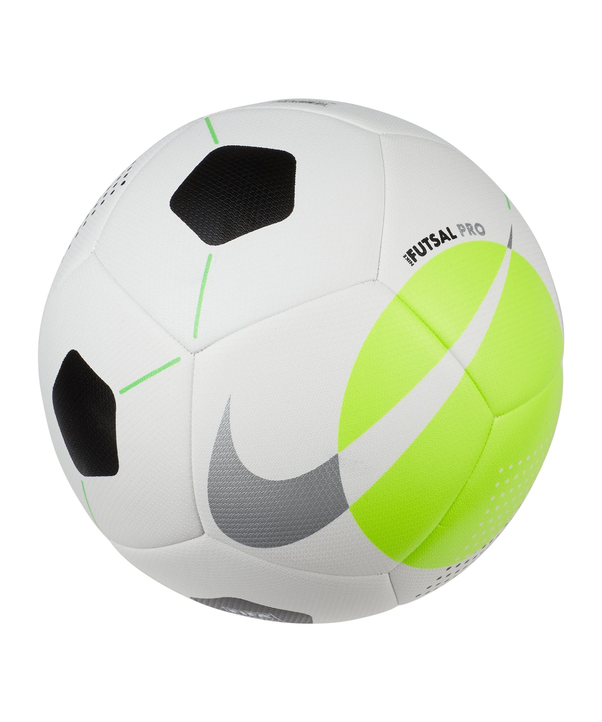 Nike Futsal Pro Team Weiss Grün F100 - weiss