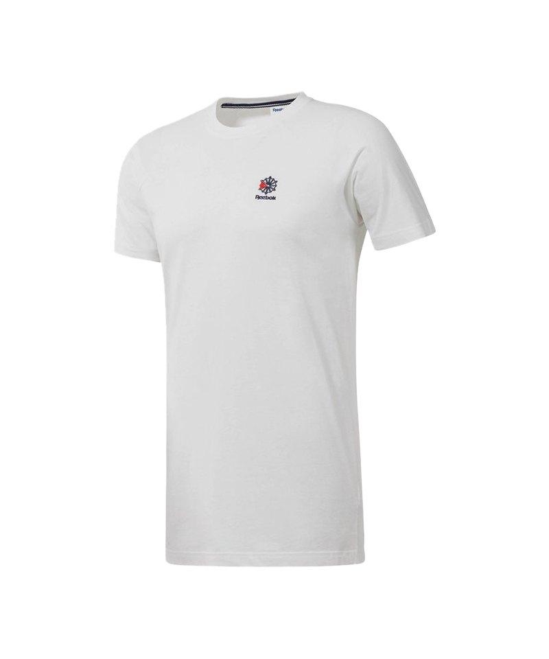 Reebok Classics Tee T-Shirt lang Weiss - weiss