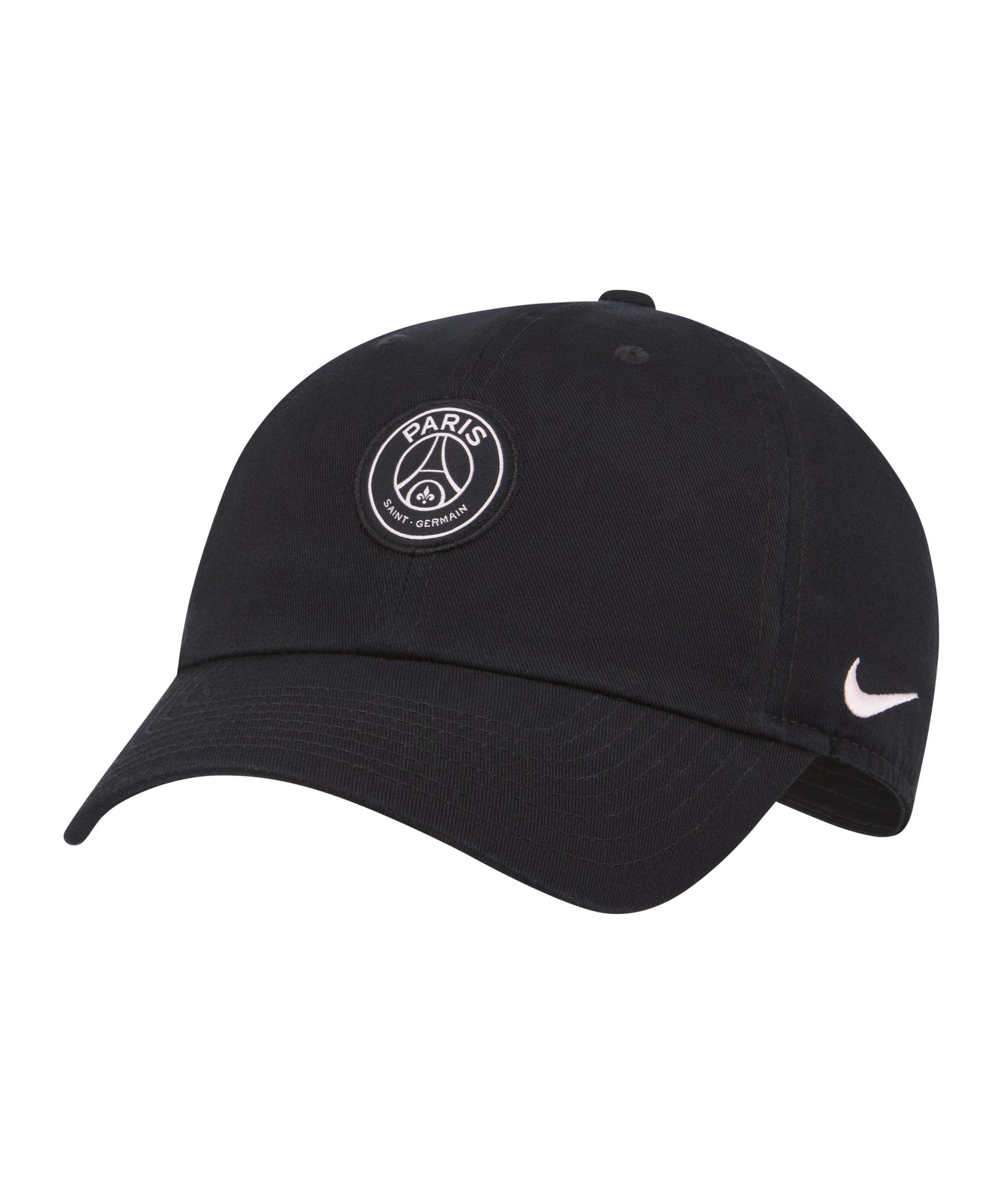 Nike Paris St. Germain H86 Cap Kids Schwarz F010 - schwarz