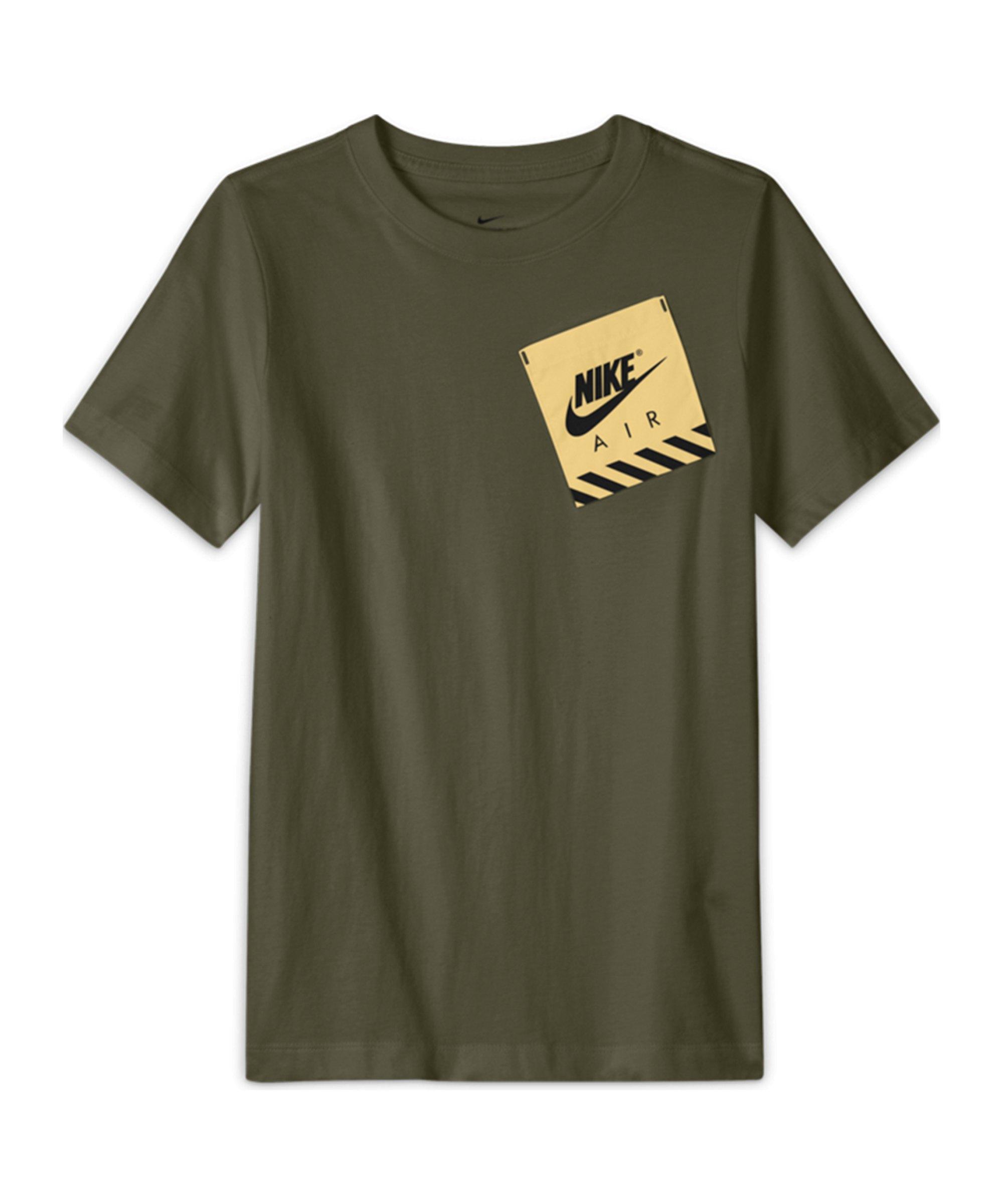 Nike Utility T-Shirt Kids Grün F222 - gruen