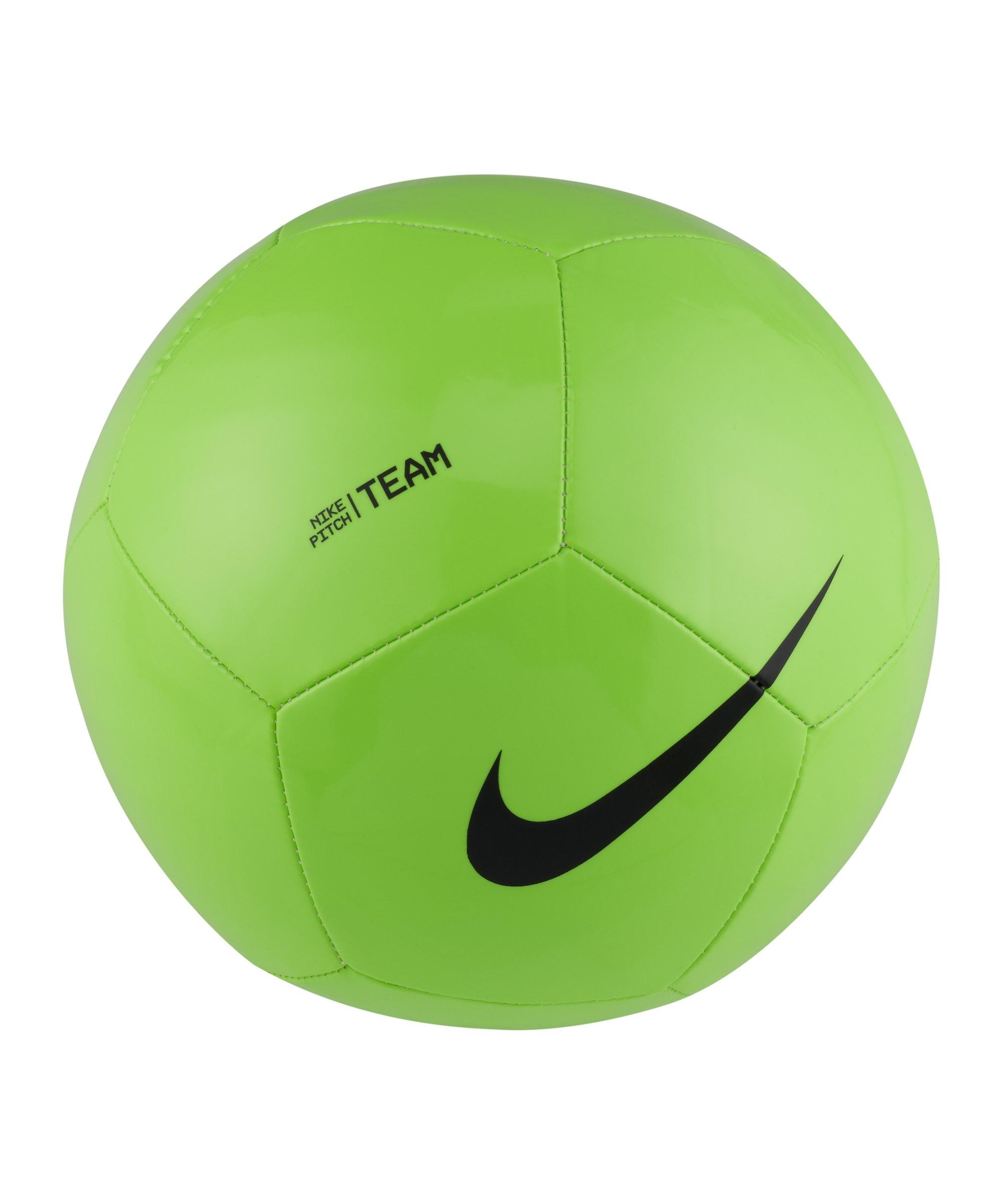 Nike Pitch Team Trainingsball Grün Schwarz F310 - gruen