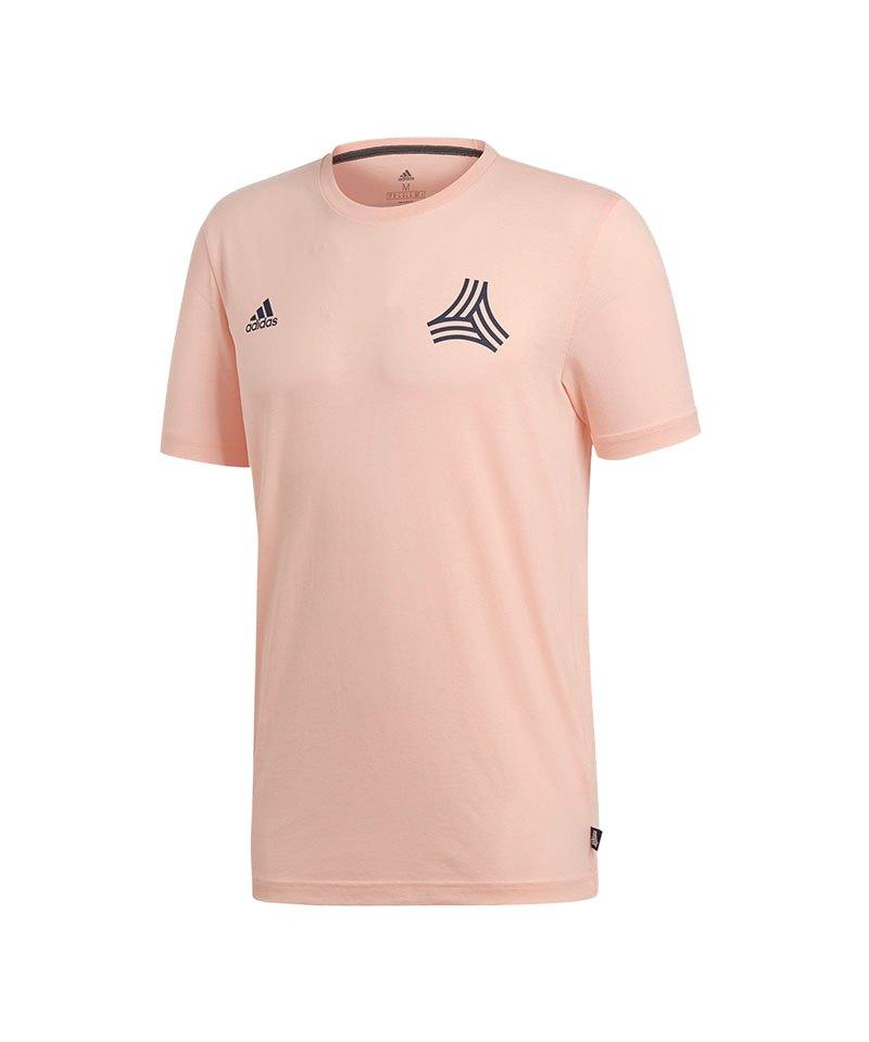 adidas Tango Logo Tee T-Shirt Rosa - rosa