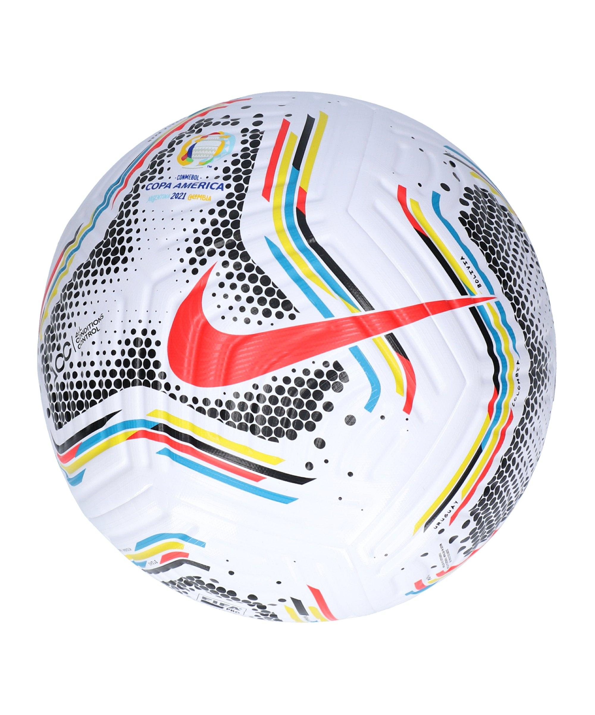 Nike Copa America Flight-21 Promo Spielball Weiss F100 - weiss