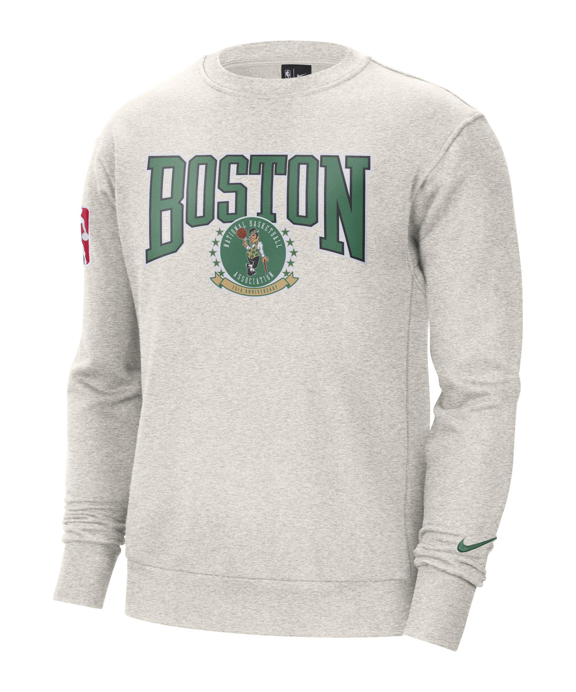 Nike Boston Celctics NBA Fleece Sweatshirt F051 - grau