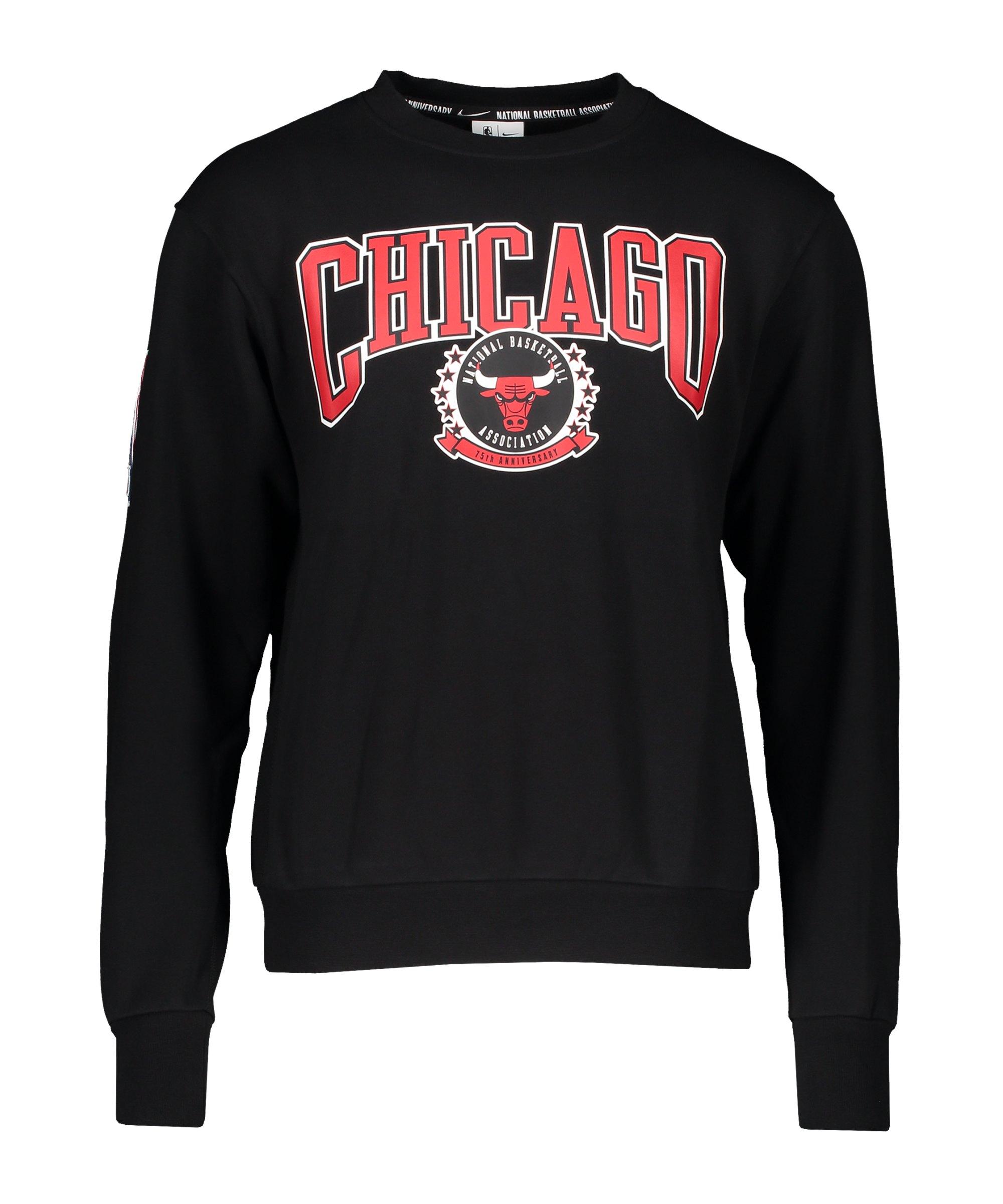 Nike Chicago Bulls Courtside NBA Sweatshirt F010 - schwarz