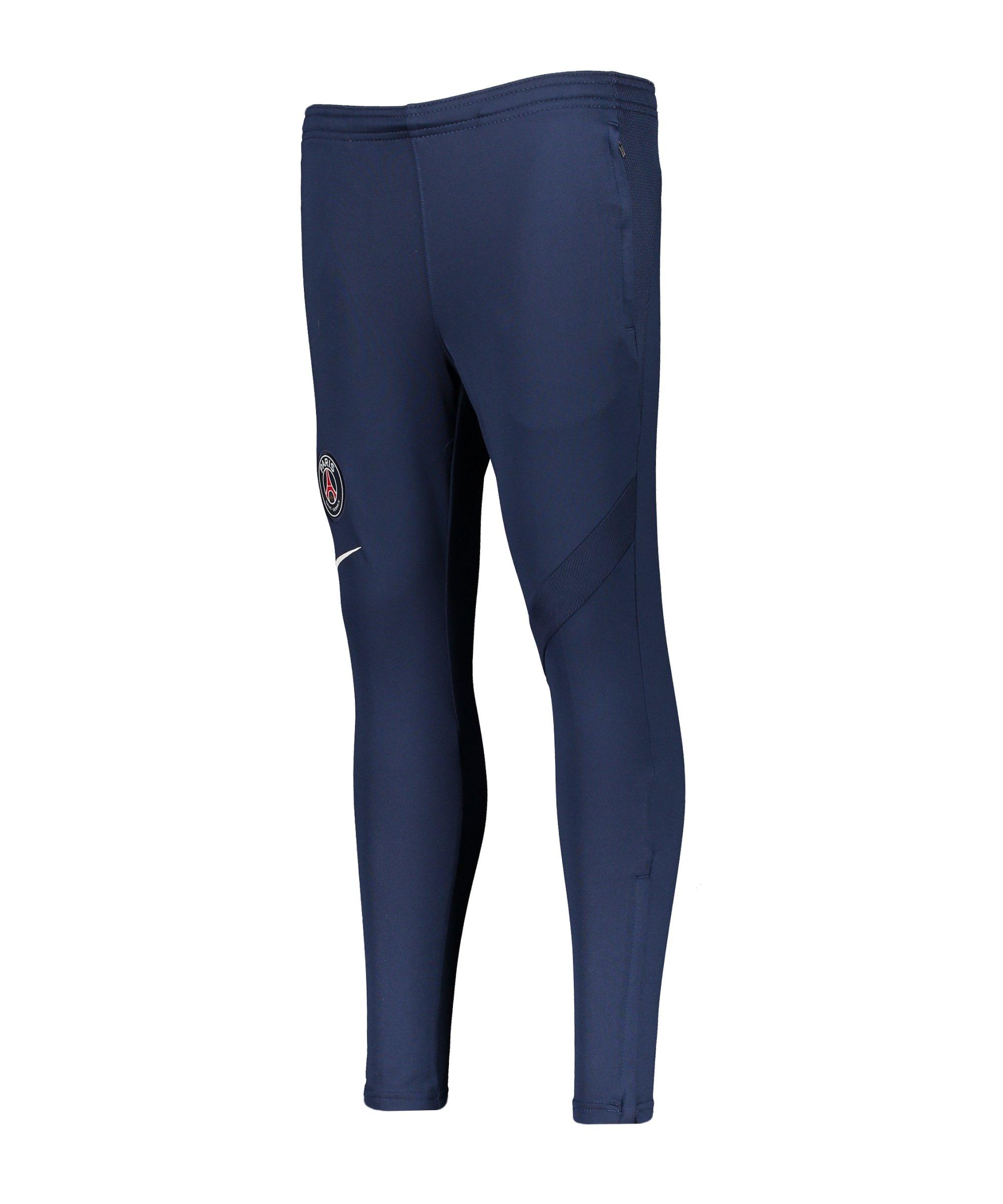 Nike Paris St. Germain Trainingshose Kids F411 - blau