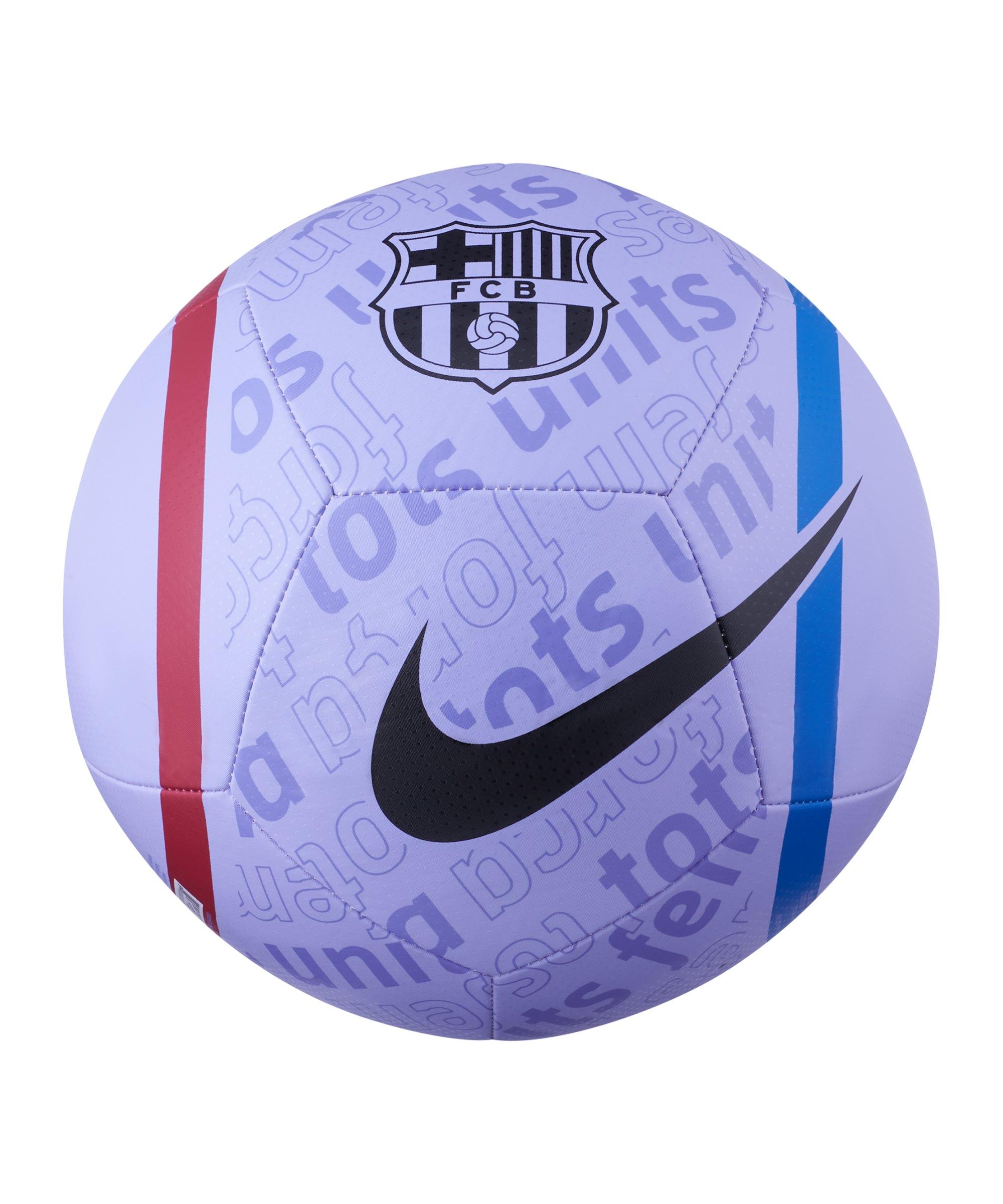 Nike FC Barcelona Pitch Trainingsball F580 - lila