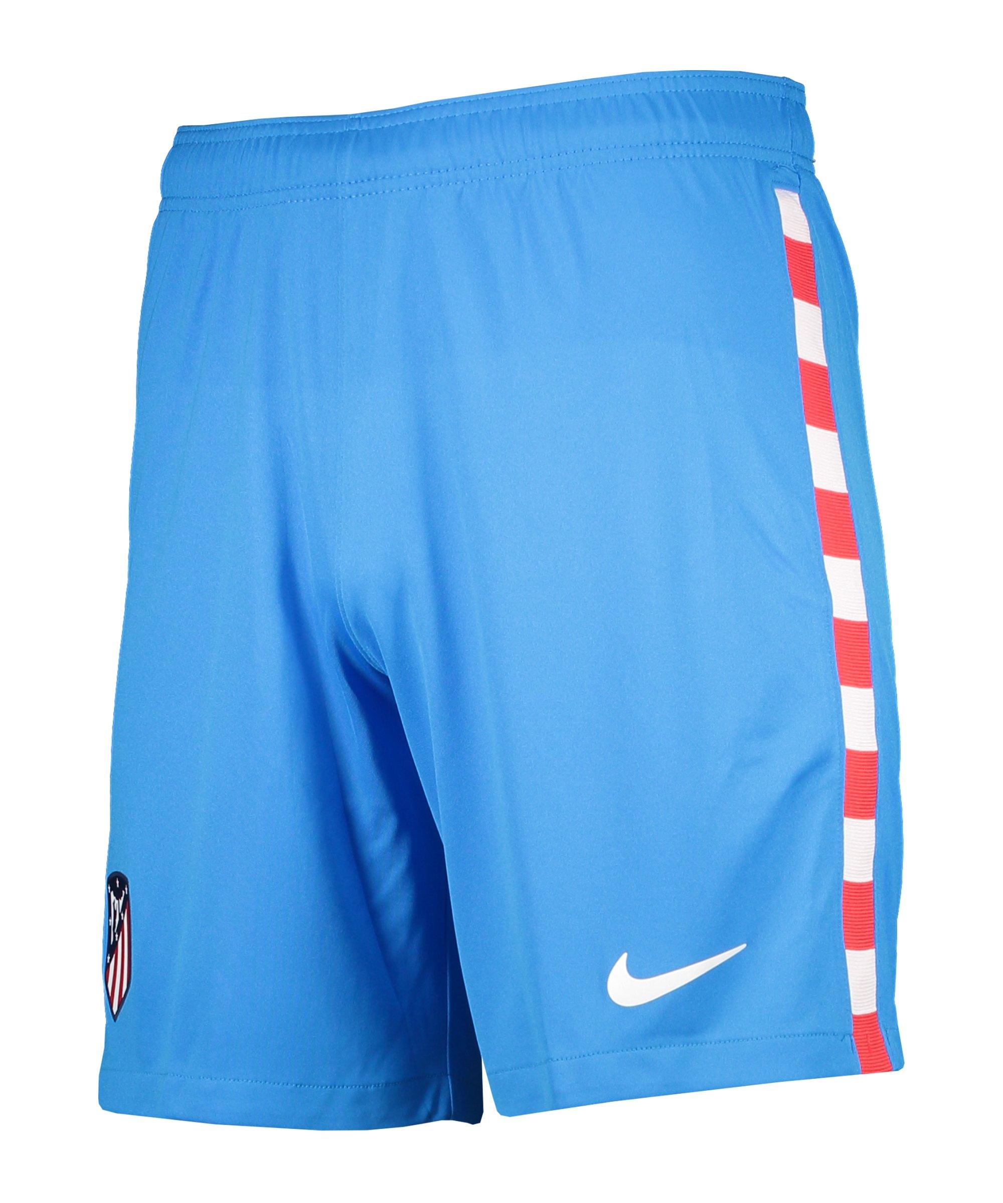Nike Atletico Madrid Short UCL 2021/2022 Kids F406 - blau