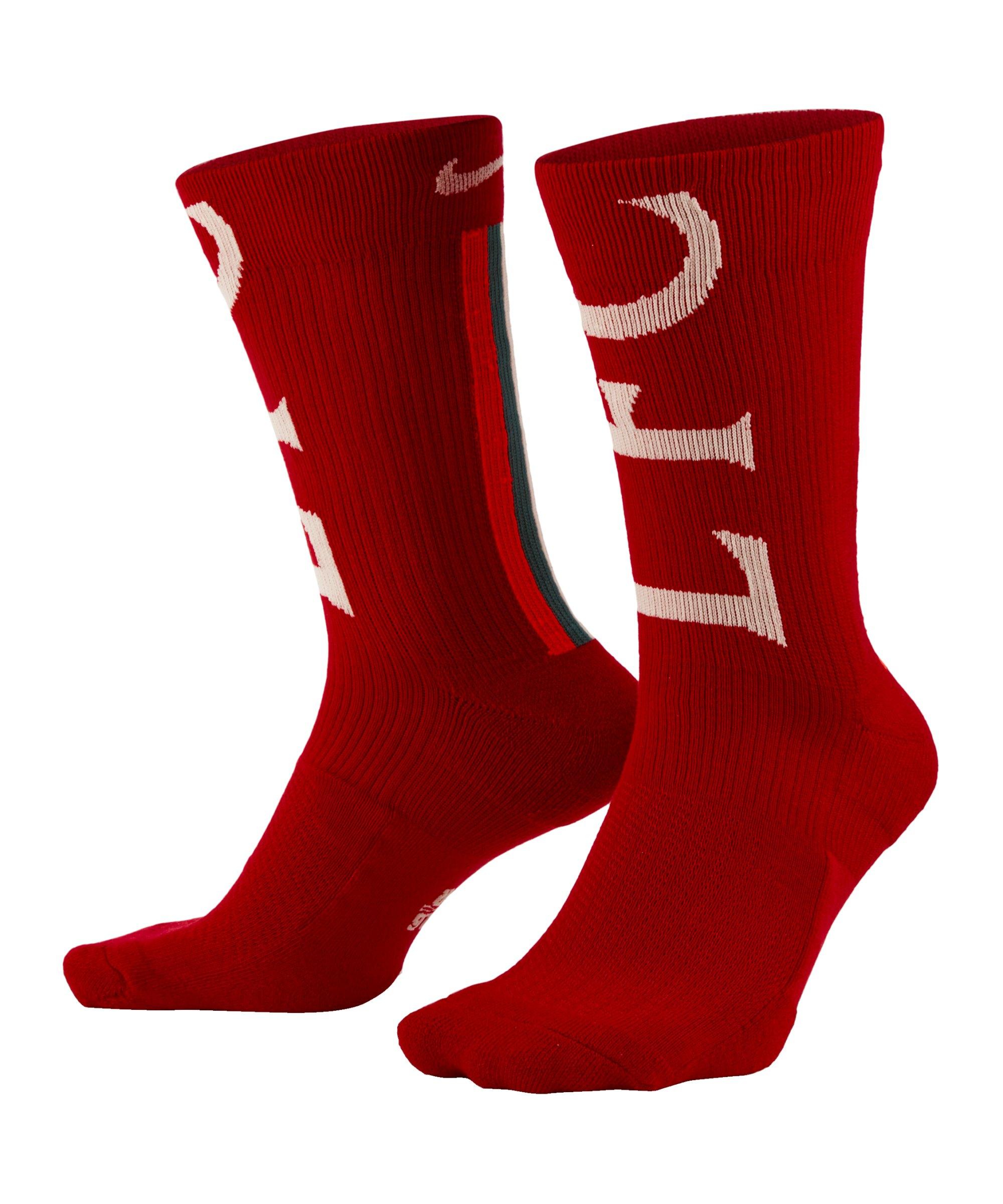 Nike FC Liverpool SNKR Socken Rot F687 - rot