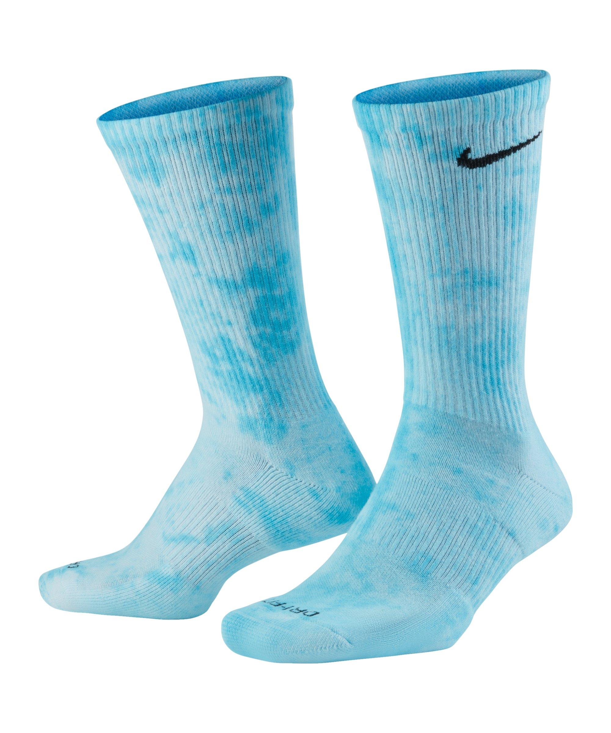 Nike Everyday Plus Cush Crew 2er Pack Socken F902 - blau