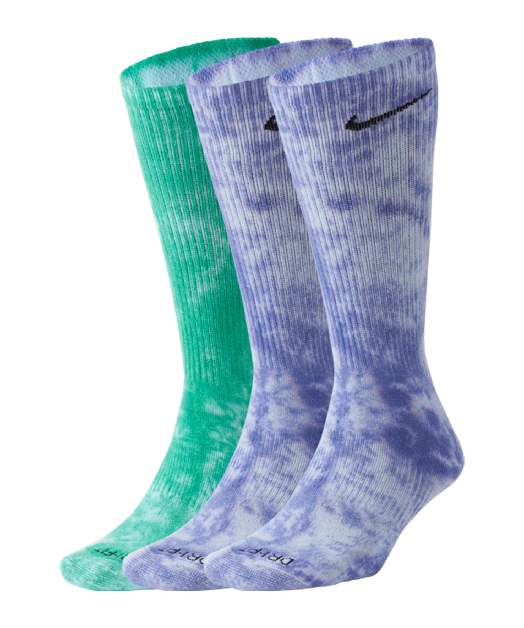 Nike Everyday Plus Cush Crew 2er Pack Socken F903 - lila