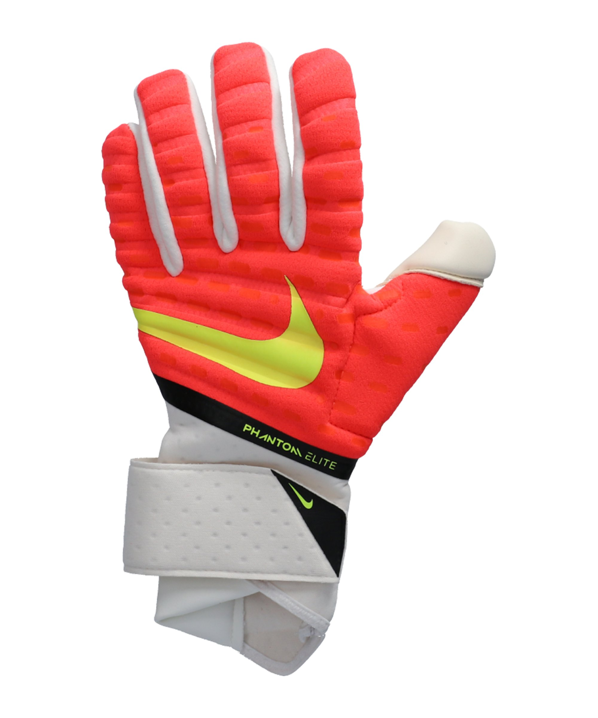 Nike Phantom Elite Promo TW-Handschuhe Rot Weiss Gelb F635 - rot