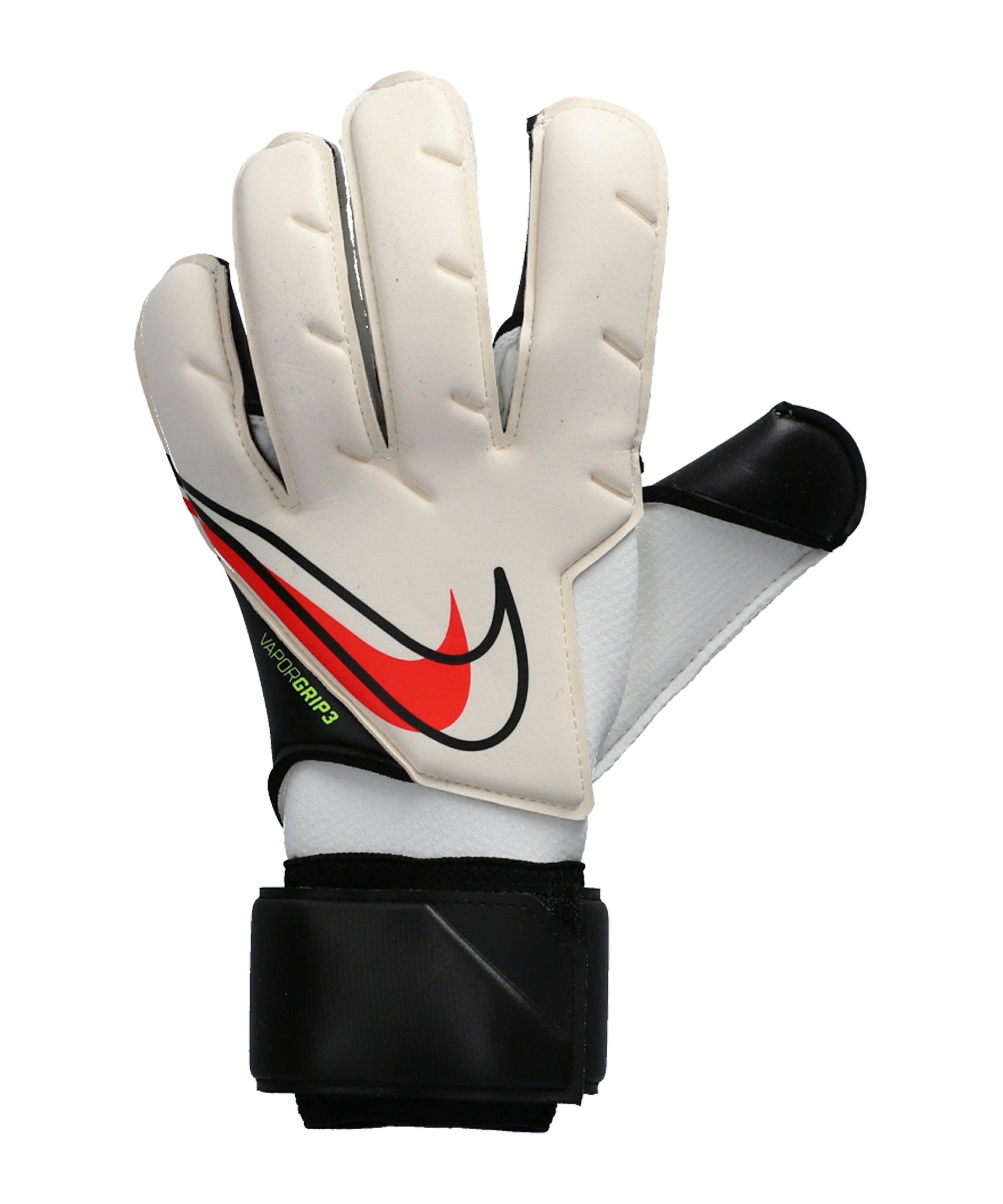 Nike VG3 Promo TW-Handschuhe Weiss Schwarz Rot F100 - weiss