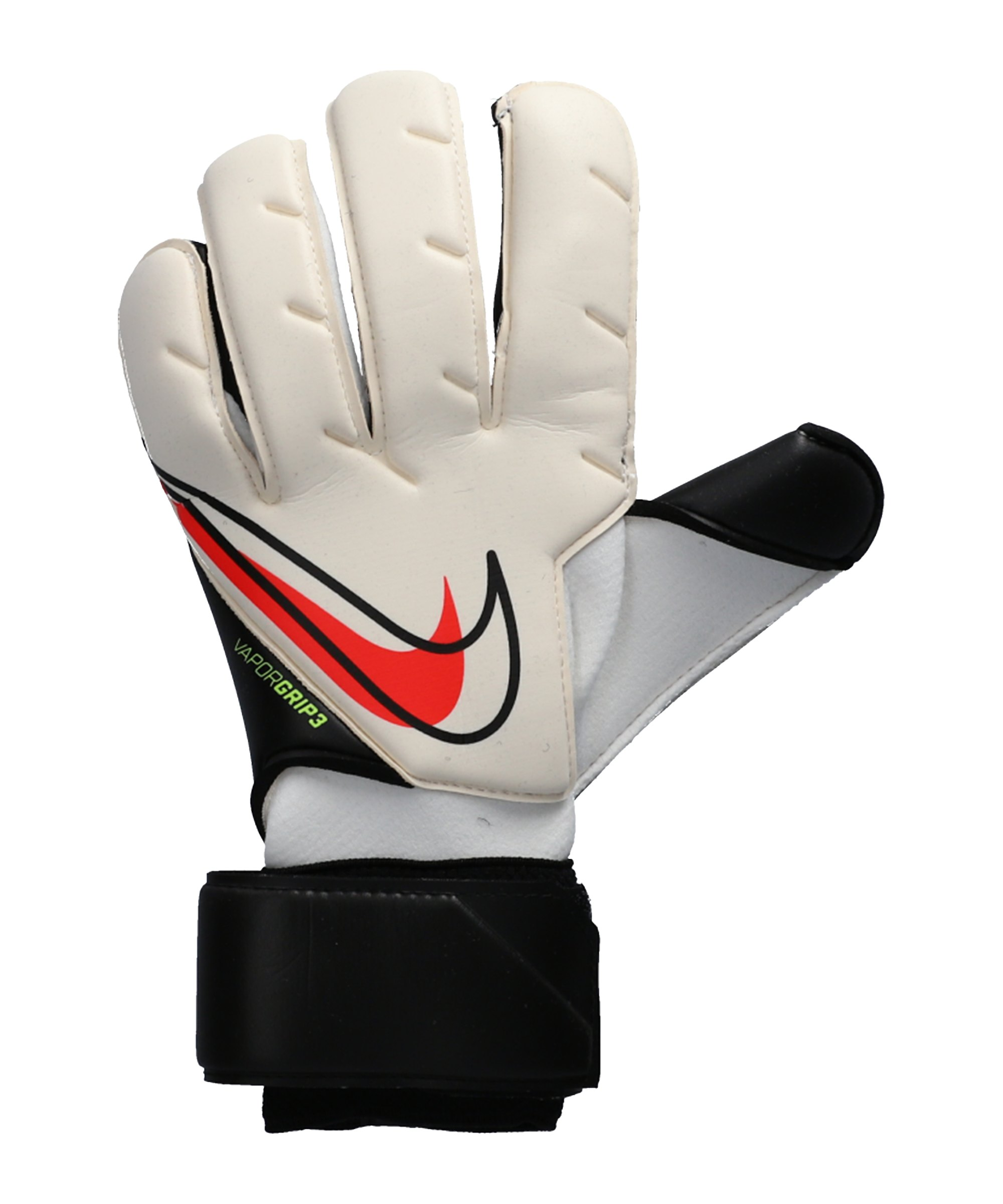 Nike VG3 RS Promo TW-Handschuhe Weiss Schwarz Rot F100 - weiss