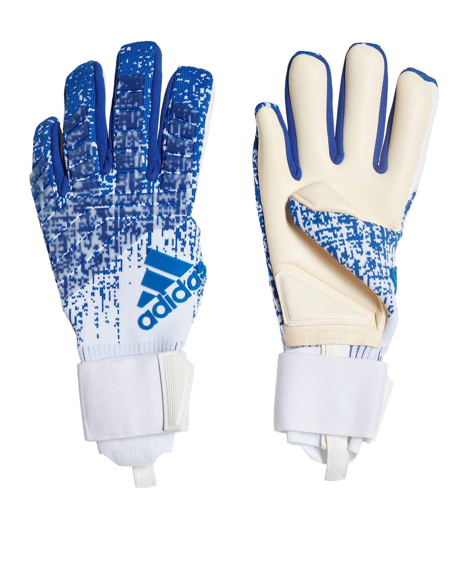 adidas Predator Pro Purecontrol TW-Handschuh Blau - blau