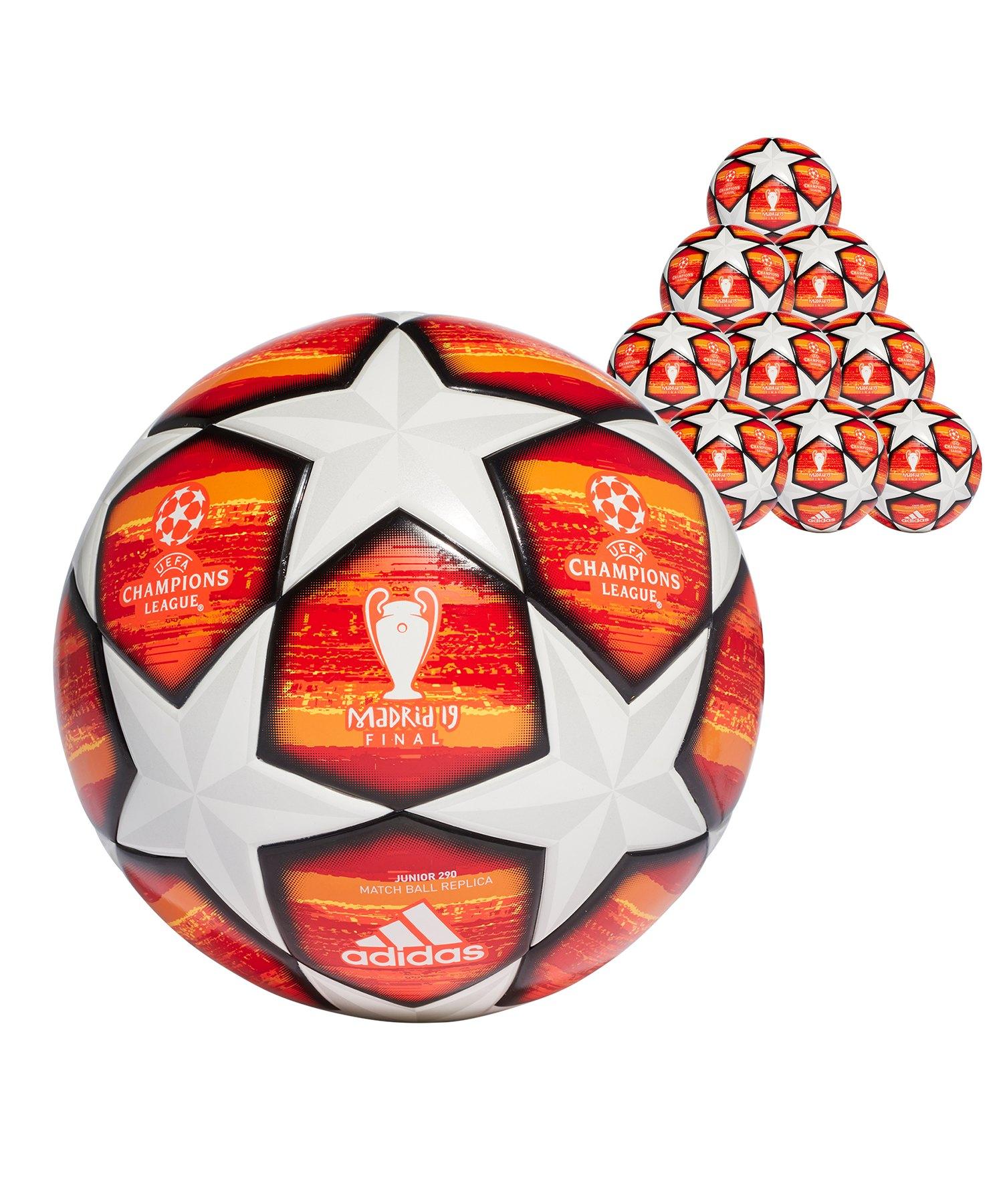 adidas Finale 20x Lightball 290 Gramm Gr.5 Weiss - weiss