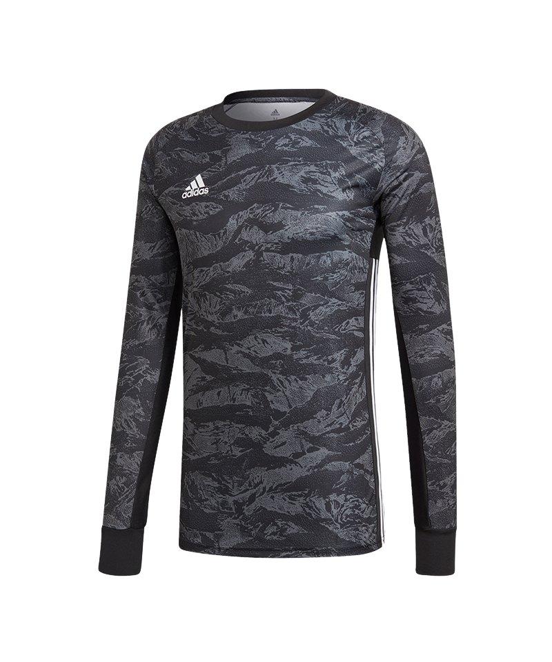 adidas AdiPro 19 Torwarttrikot langarm Schwarz - schwarz