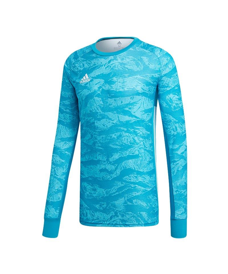 adidas AdiPro 19 Torwarttrikot langarm Blau